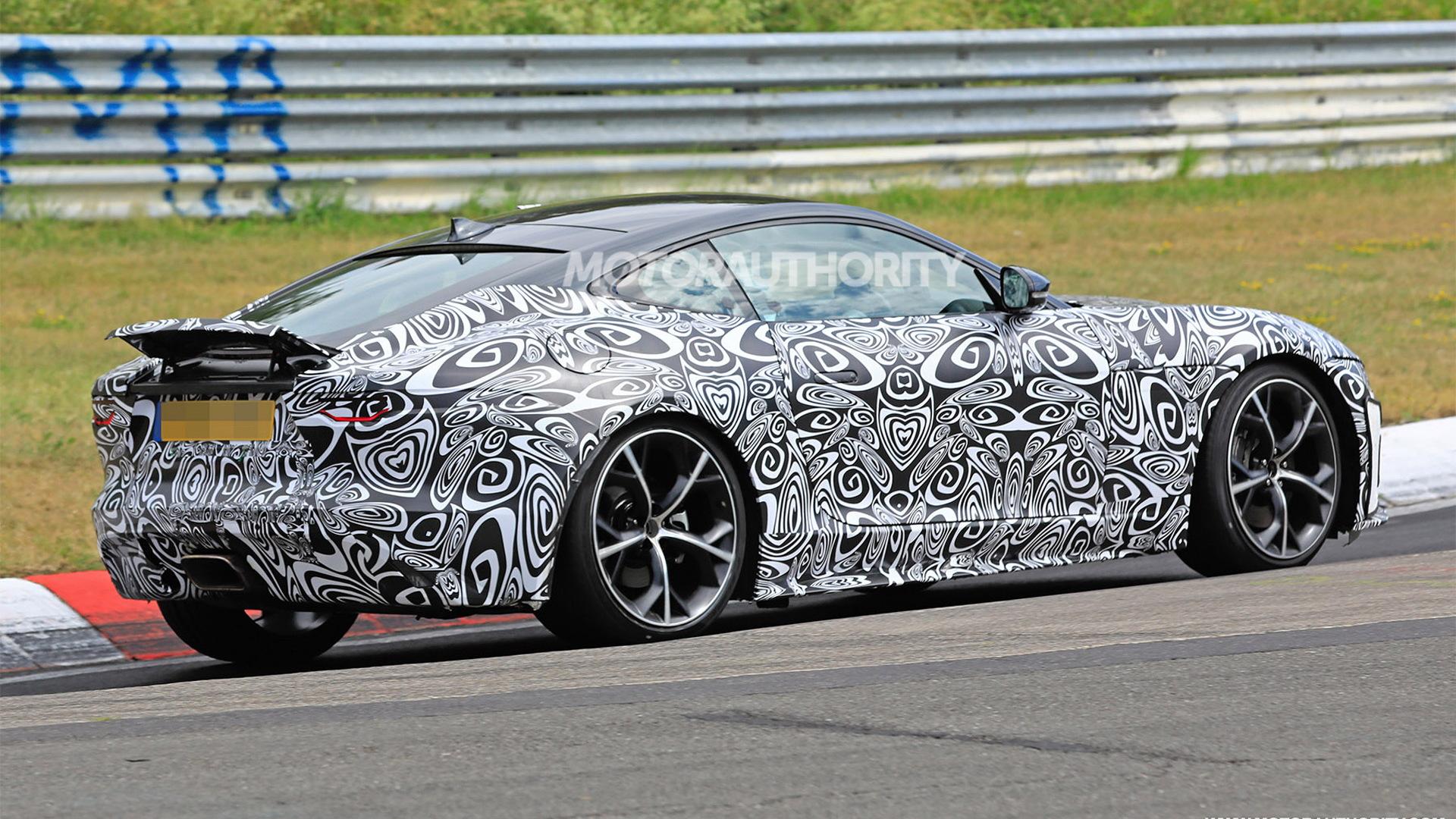 2021 Jaguar F-Type spy shots - Image via S. Baldauf/SB-Medien