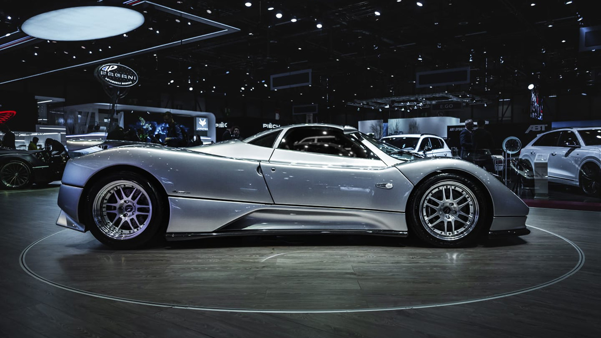 Pagani Zonda C12 with chassis number ending in 001
