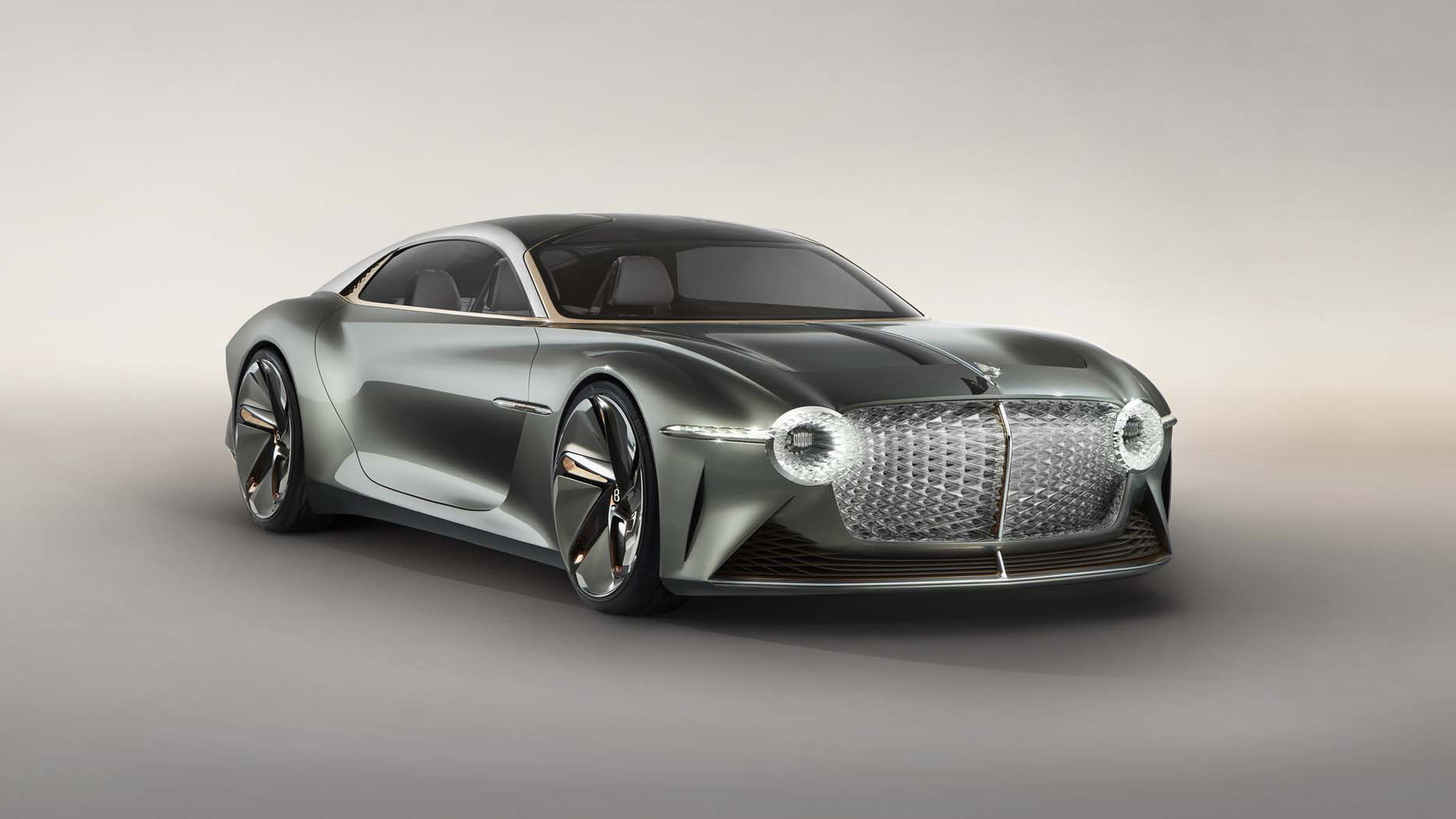 Bentley celebrates 100th birthday with this massive EXP 100 GT Concept