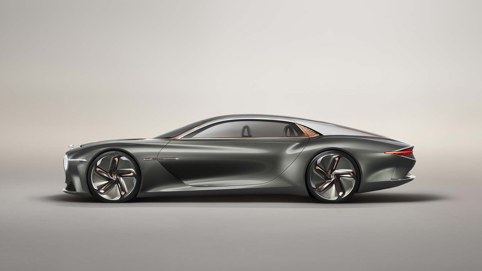 Bentley EXP 100 GT revealed