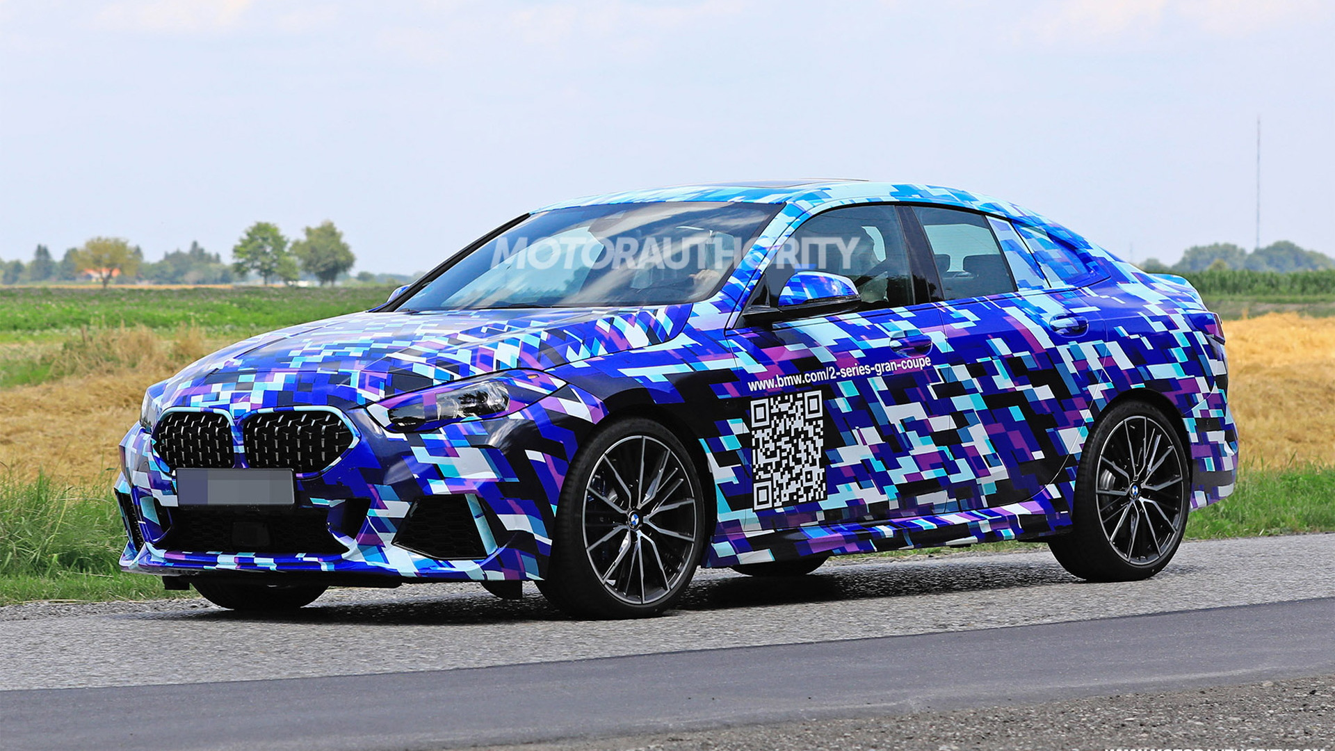 2021 bmw 2series gran coupe spy shots and video