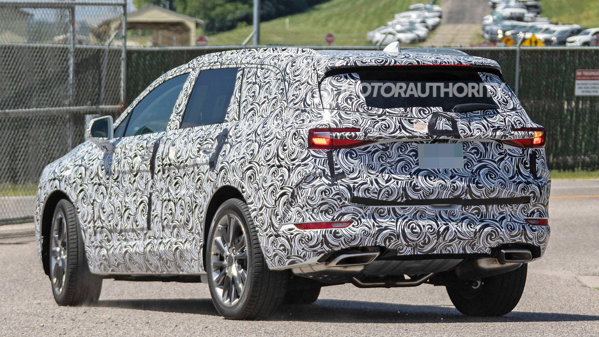 2021 Buick Enclave Spy Photos Picture