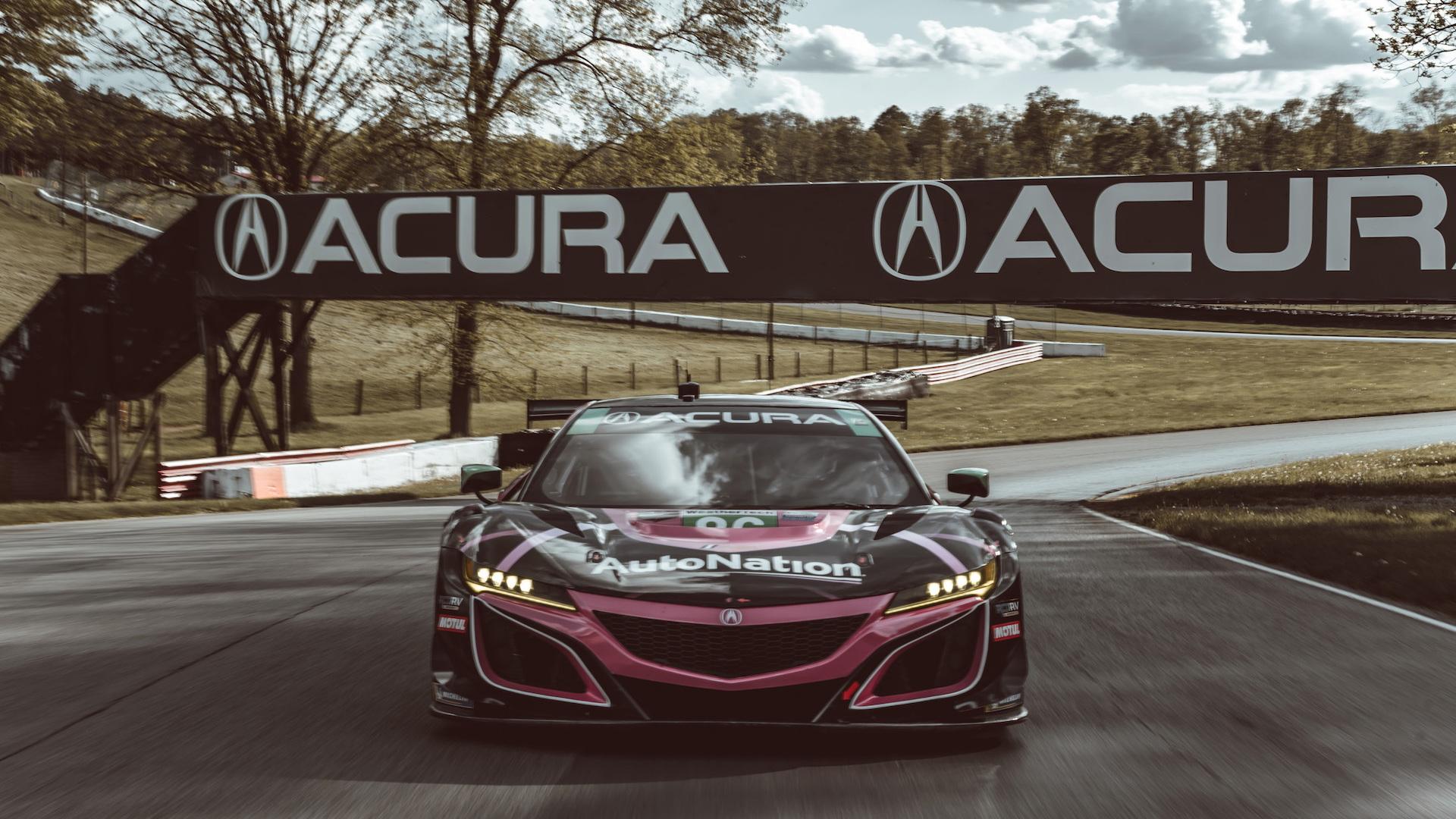 The Acura Nsx Versus The Nsx Gt3 Evo Race Car
