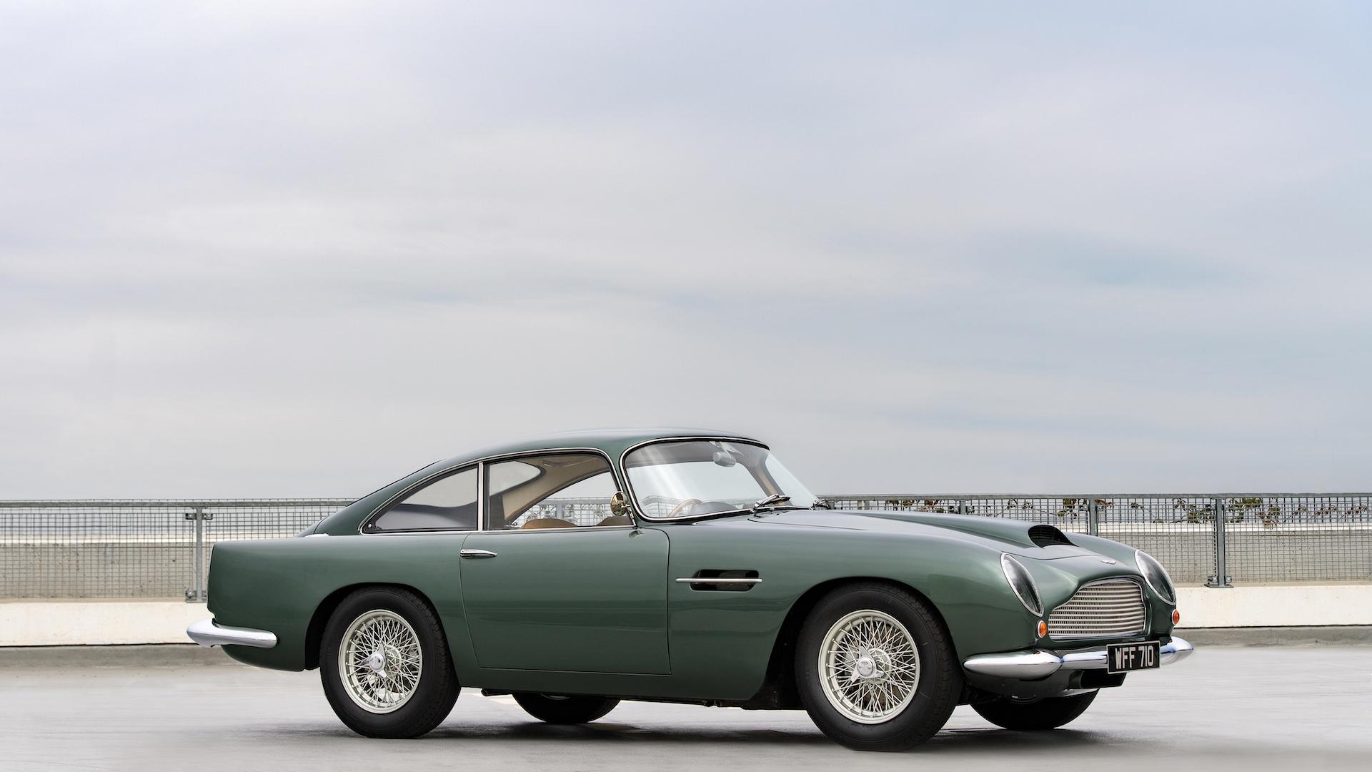 1961 Aston Martin DB4 GT Photo: RM Sotheby's