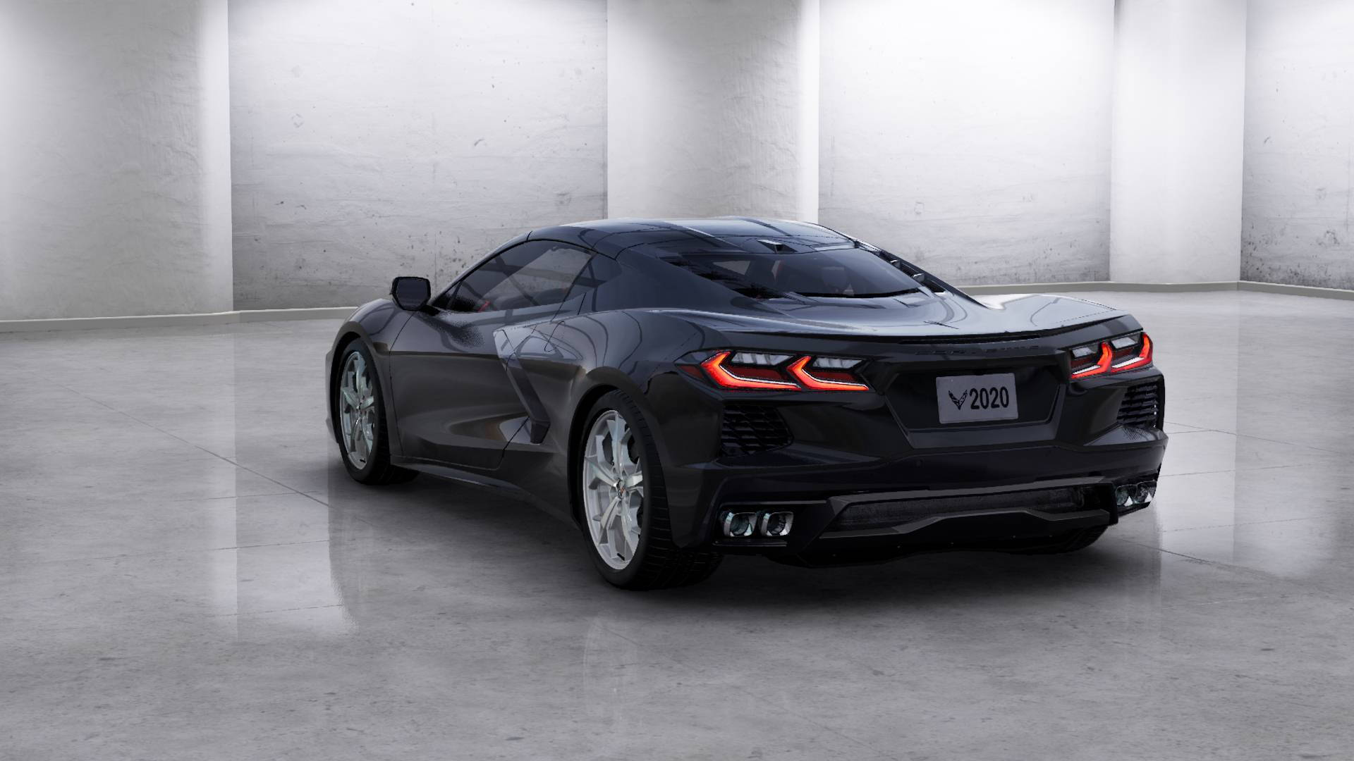 2020 Chevrolet Corvette Stingray build configurator