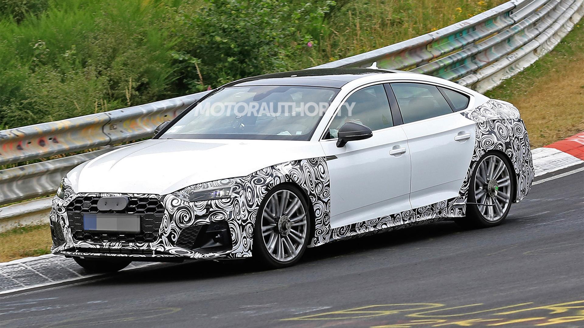 2021 Audi S5 Sportback Spy Shots