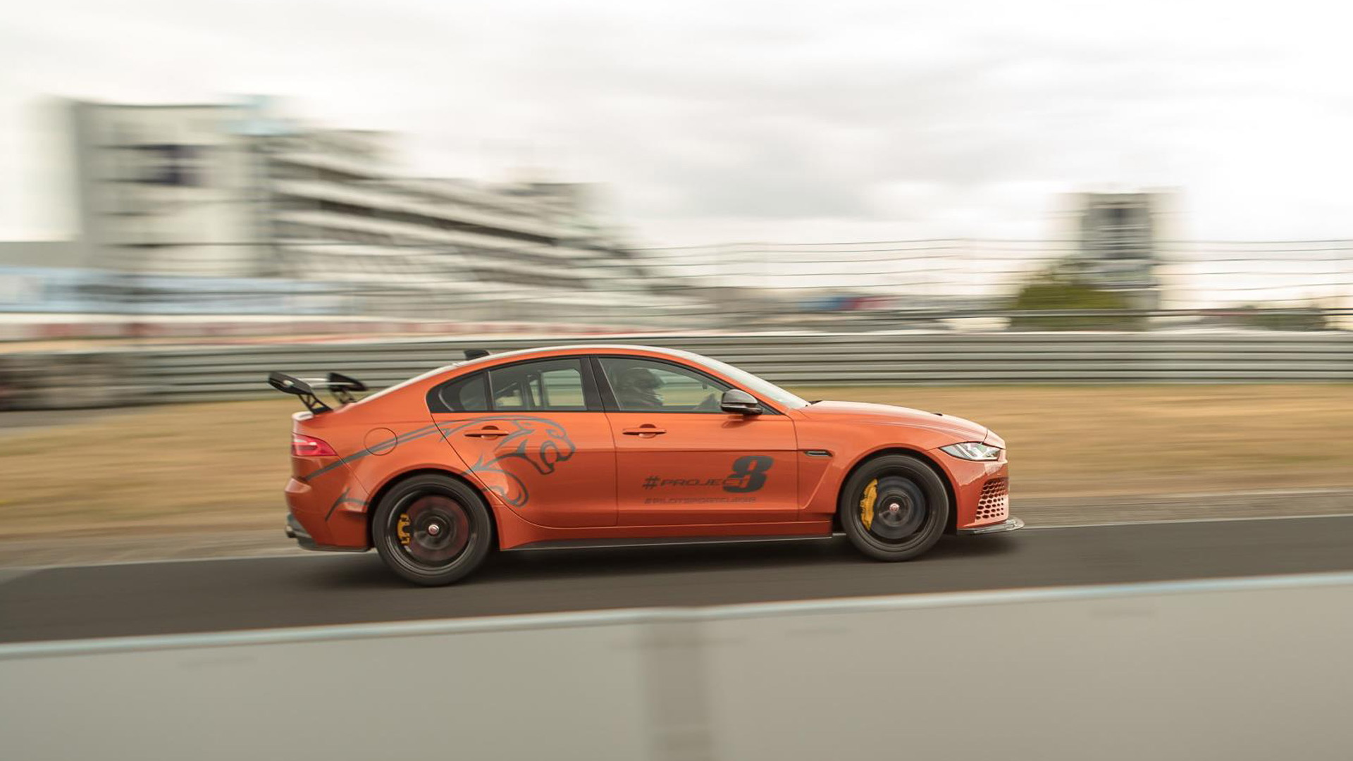 Jaguar XE SV Project 8 sets 7:18.361 Nürburgring lap time