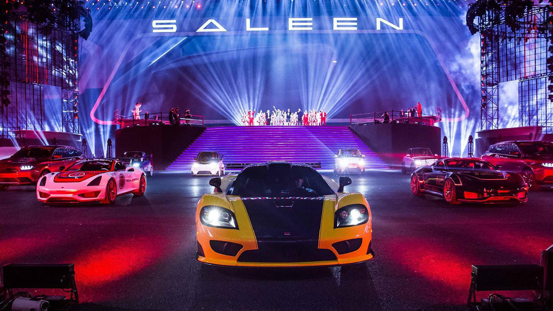 Saleen launch in China