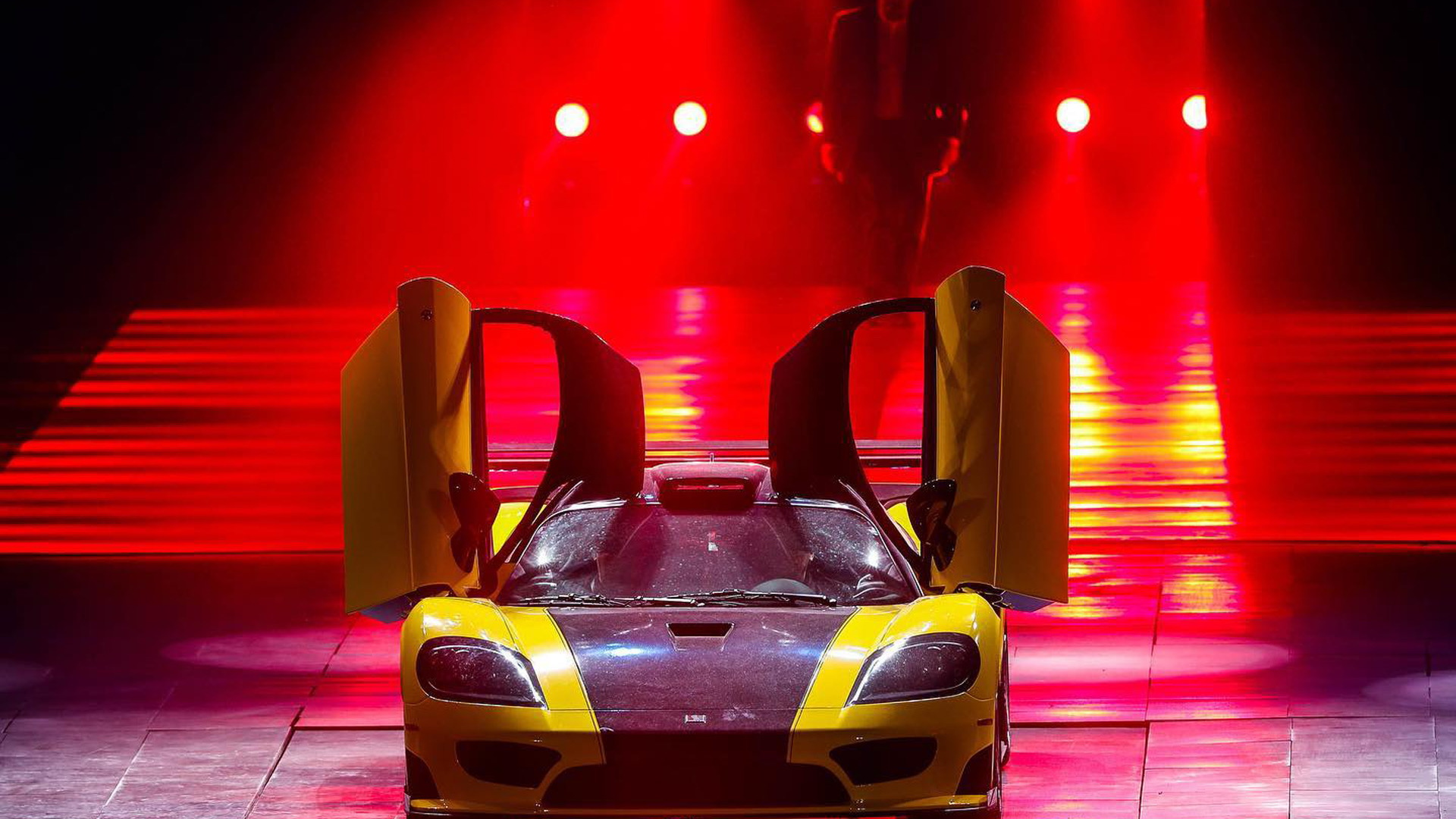 Saleen S7 Le Mans shown at Saleen launch in China