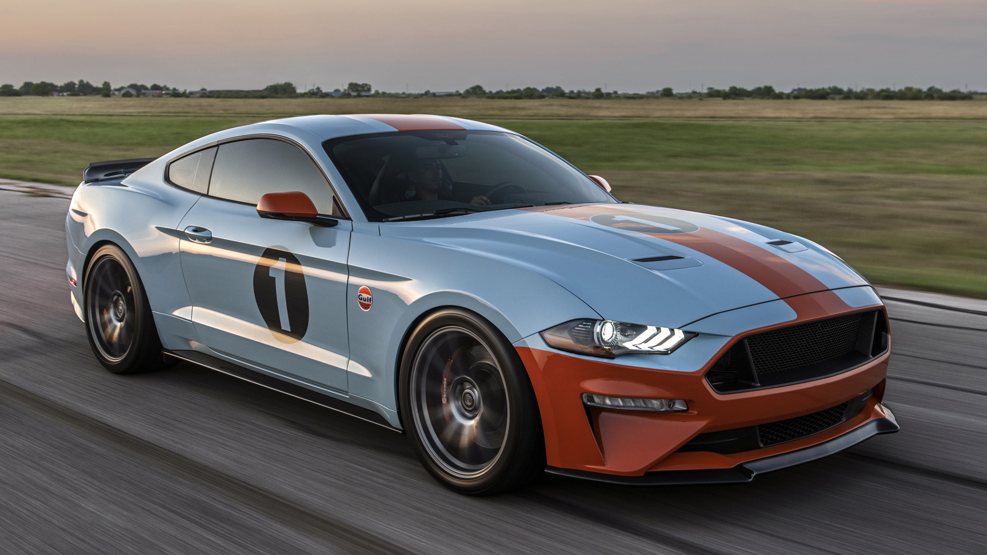 2019 Brown Lee Performance Gulf Heritage Mustang