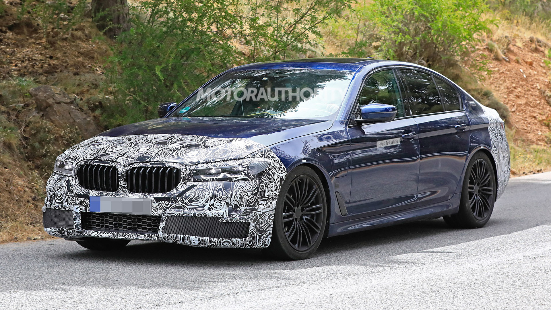 2021 Bmw 5 Series Spy Shots