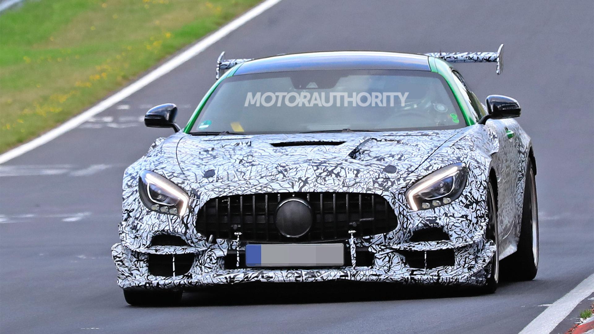 2021 Mercedes-AMG GT Black Series - Image via S. Baldauf/SB-Medien