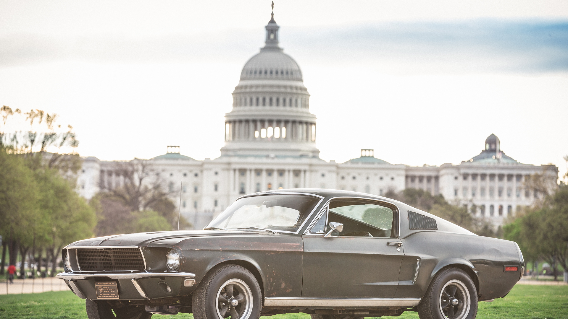 Iconic Mustang from Steve McQueen's 'Bullitt' is going up for auction