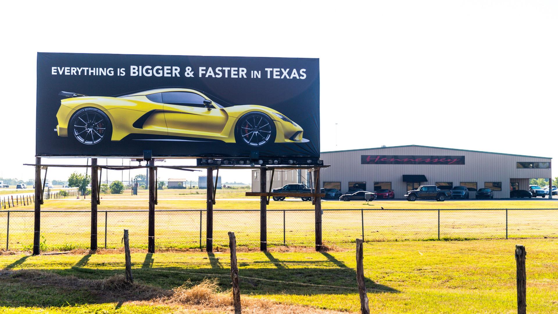 HennesseyPerformance Engineering factory in Sealy, Texas