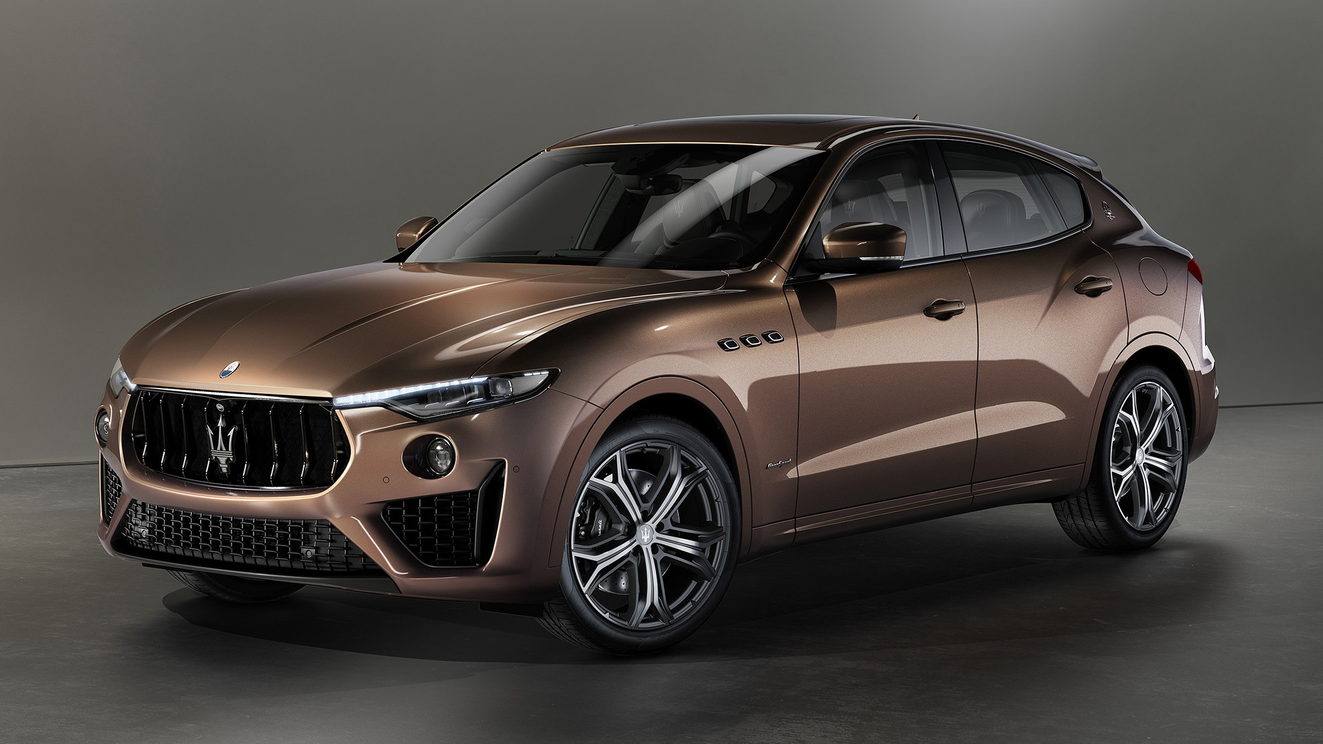2020 Maserati Levante with Zegna Pelletessuta woven leather interior
