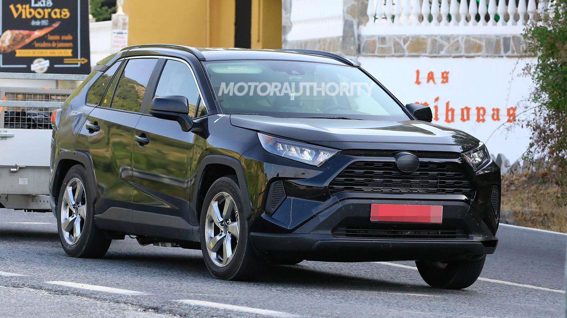 2020 Toyota RAV4: News, Options, Design, Release >> 2020 Toyota Rav4 Plug In Hybrid Spy Shots
