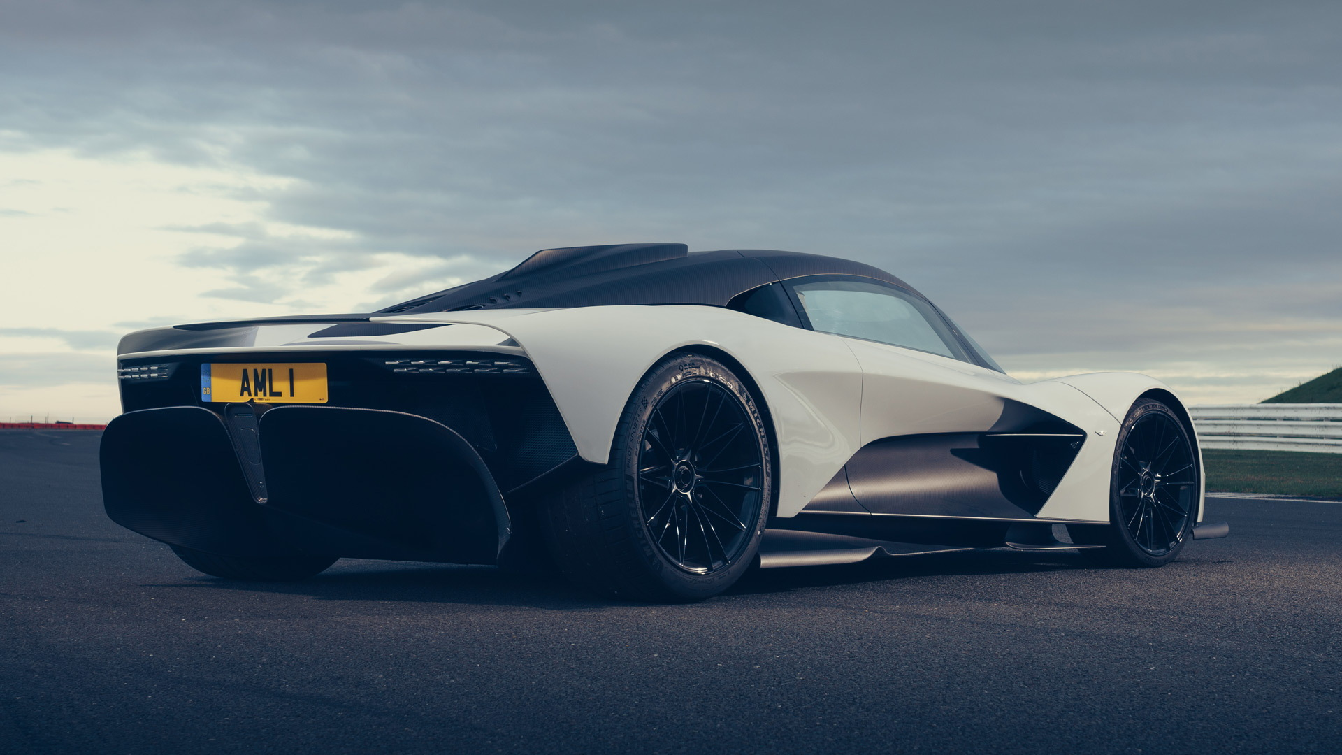Aston Martin Valkyrie and Valhalla Take A Ride Around SIlverstone