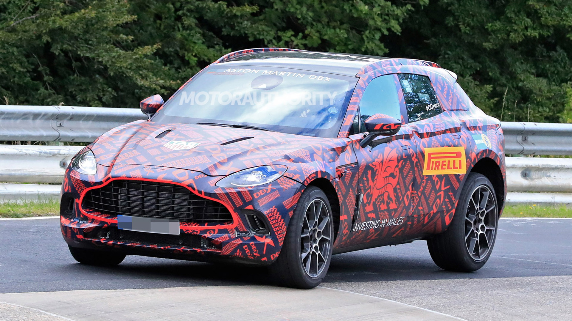 2020 Aston Martin DBX spy shots - Photo credit: S. Baldauf/SB-Medien