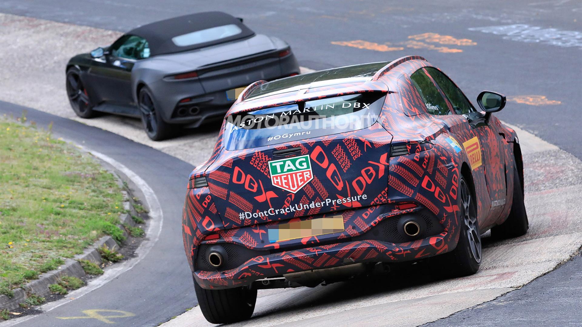 2020 Aston Martin DBX spy shots - Photo credit: S. Baldauf/SB-Medien