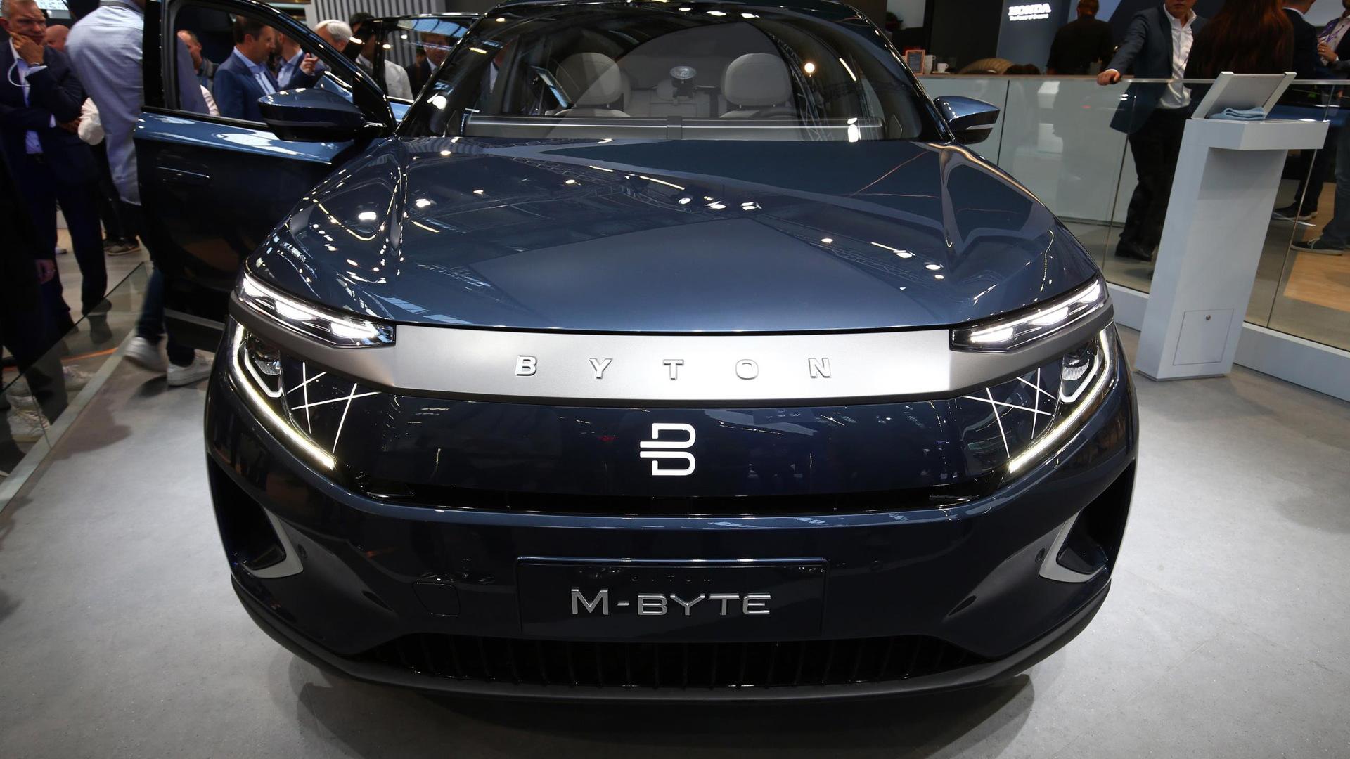 2020 Byton M-Byte