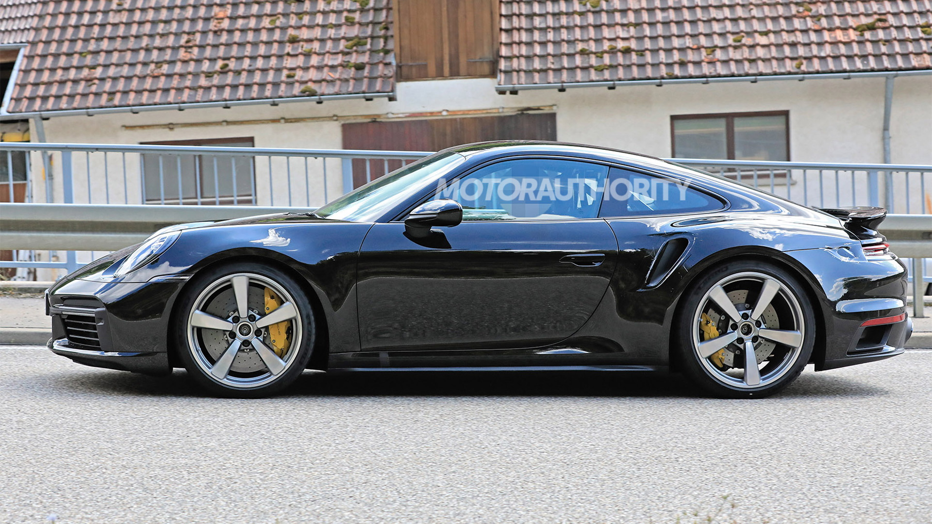 2020 Porsche 911 Turbo spy shots - Photo credit: S. Baldauf/SB-Medien