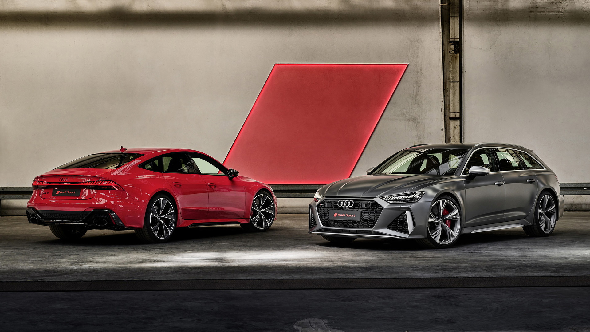 New Audi RS 7 Sportback and RS 6 Avant