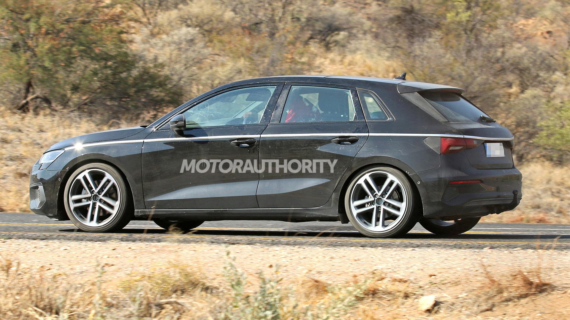 2021 Audi A3 Sportback spy shots - Photo credit: S. Baldauf/SB-Medien