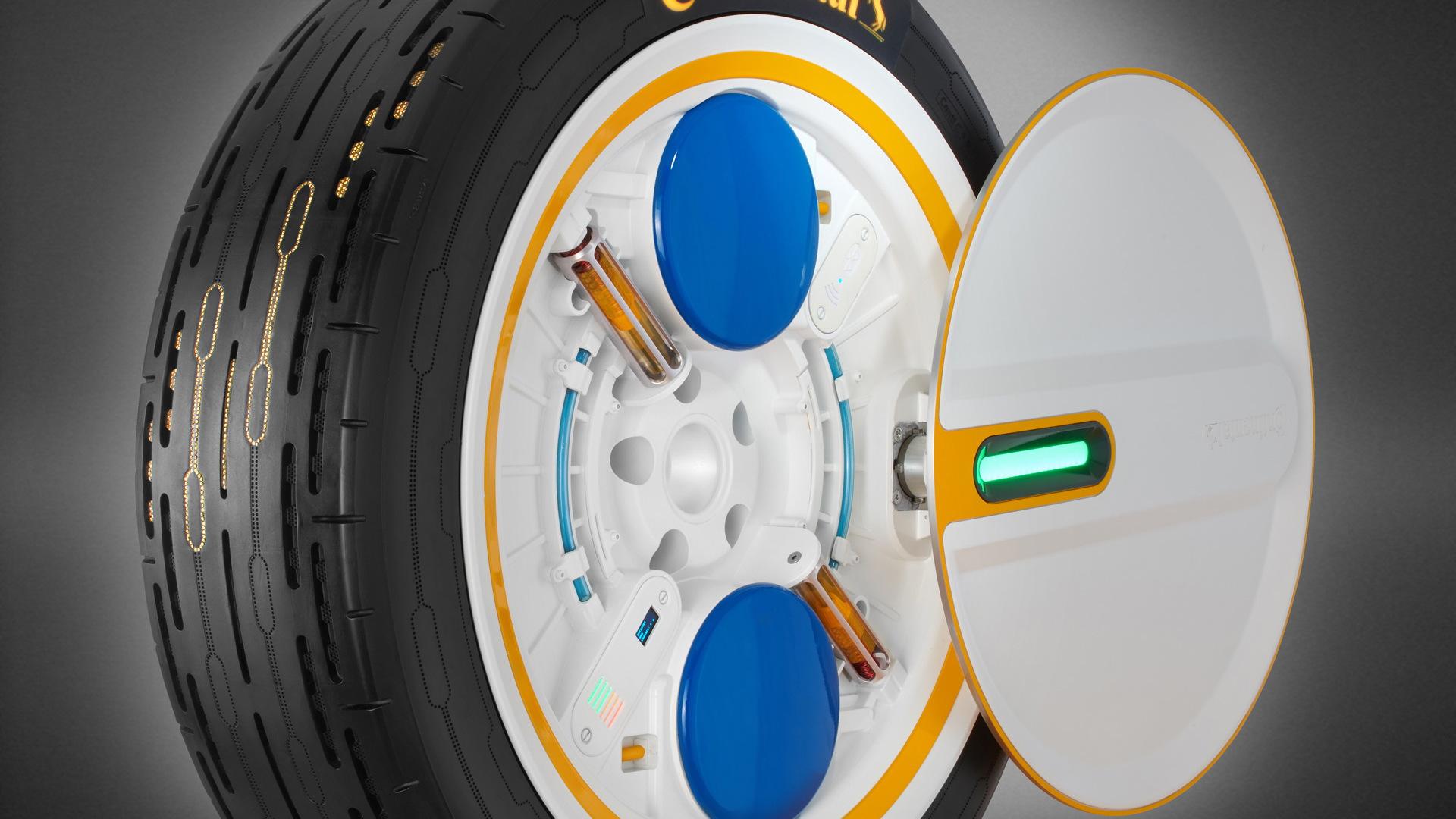 Continental Conti C.A.R.E. tire concept