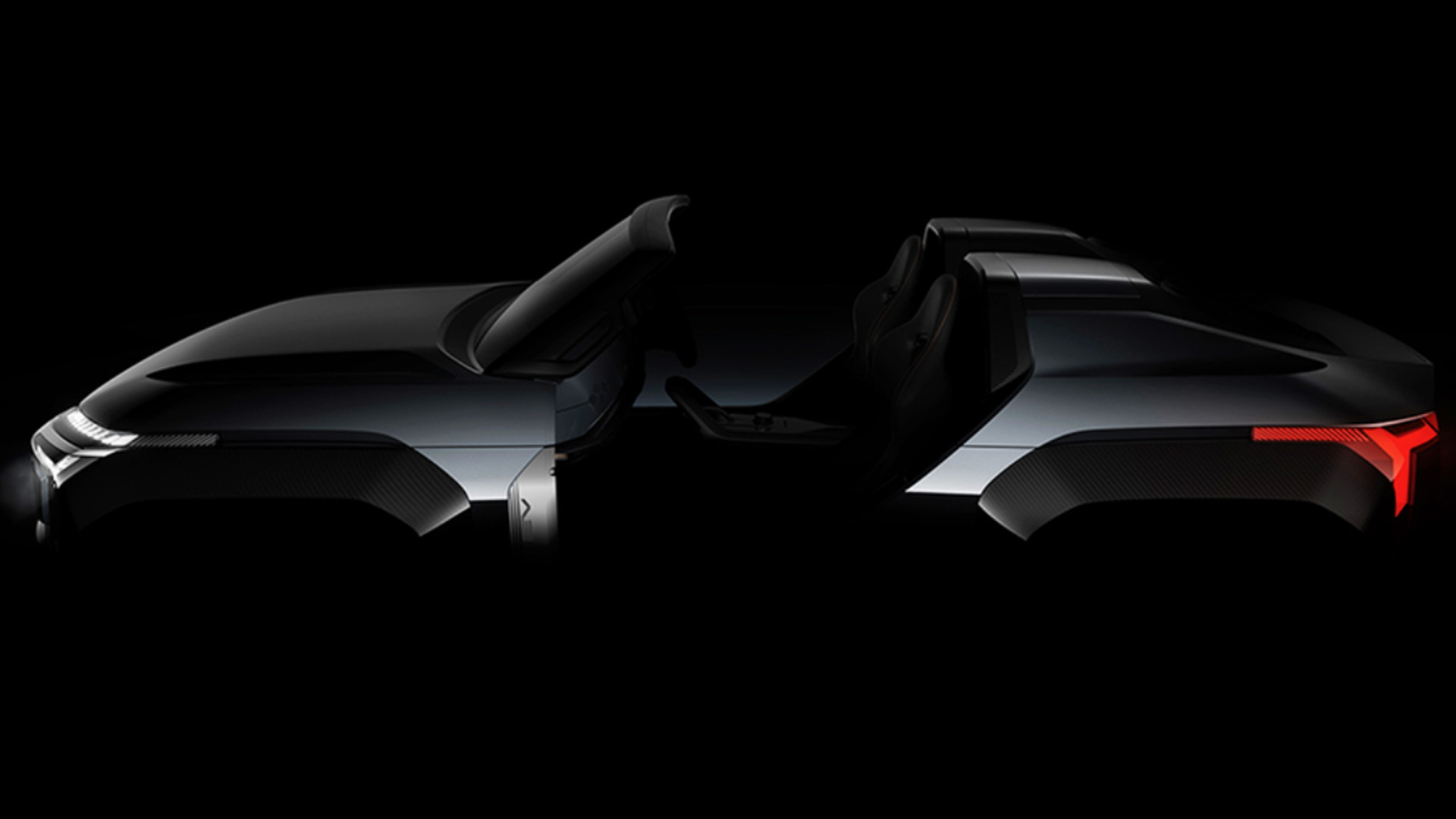 Teaser for Mitsubishi MI-TECH Concept debuting at 2019 Tokyo Motor Show