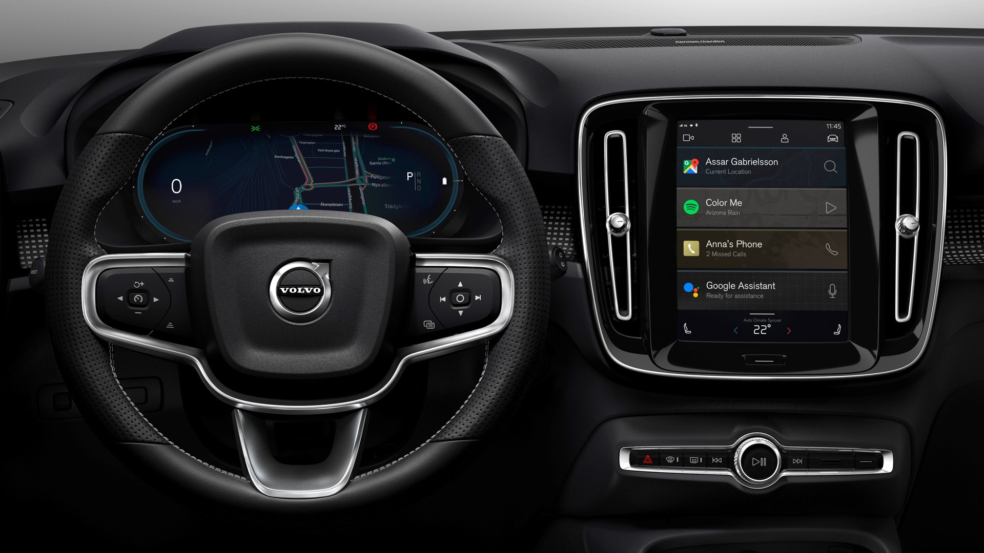 Volvo XC40 Electric to debut Android-based infotainment system