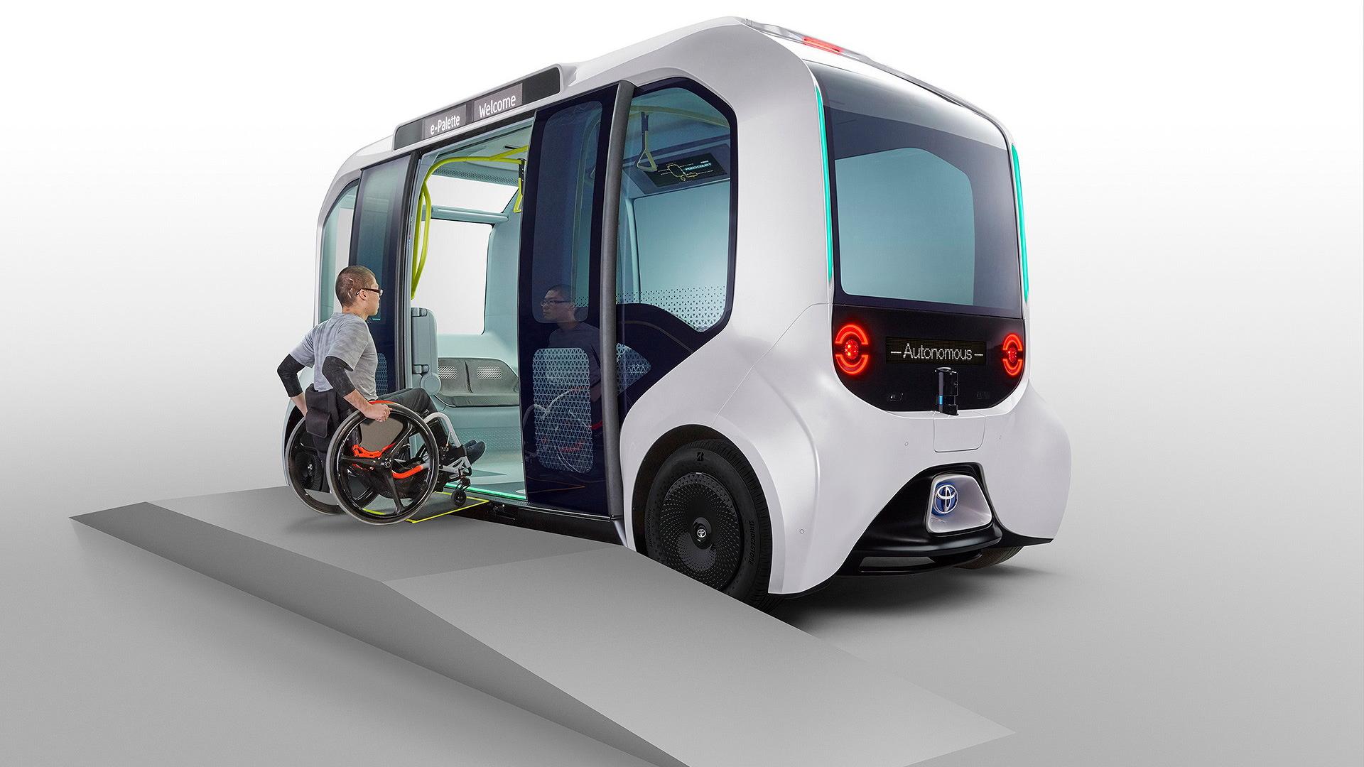 Toyota Tokyo 2020 Version e-Palette self-driving shuttle