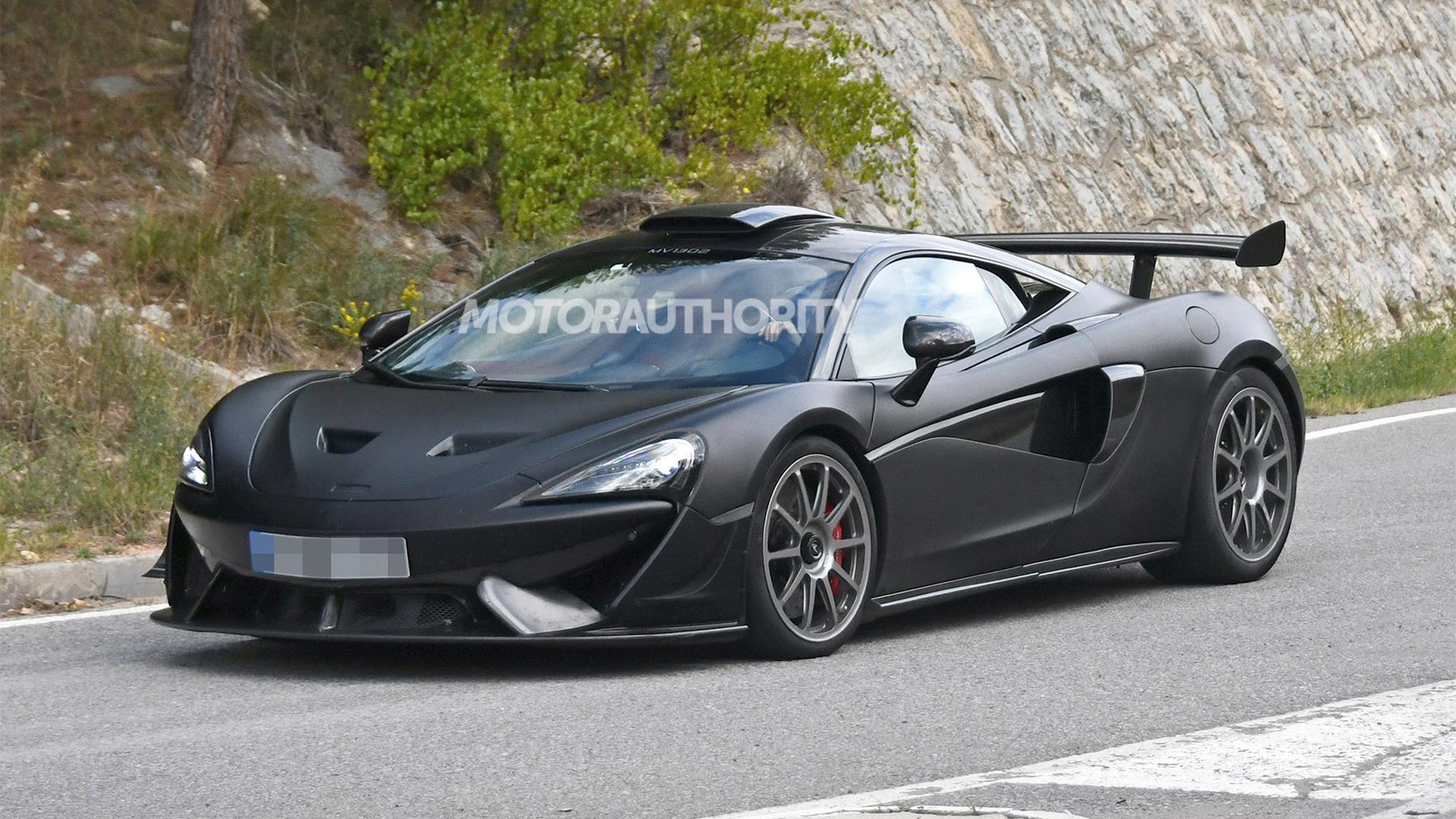 2021 McLaren 620R spy shots - Photo credit: S. Baldauf/SB-Medien
