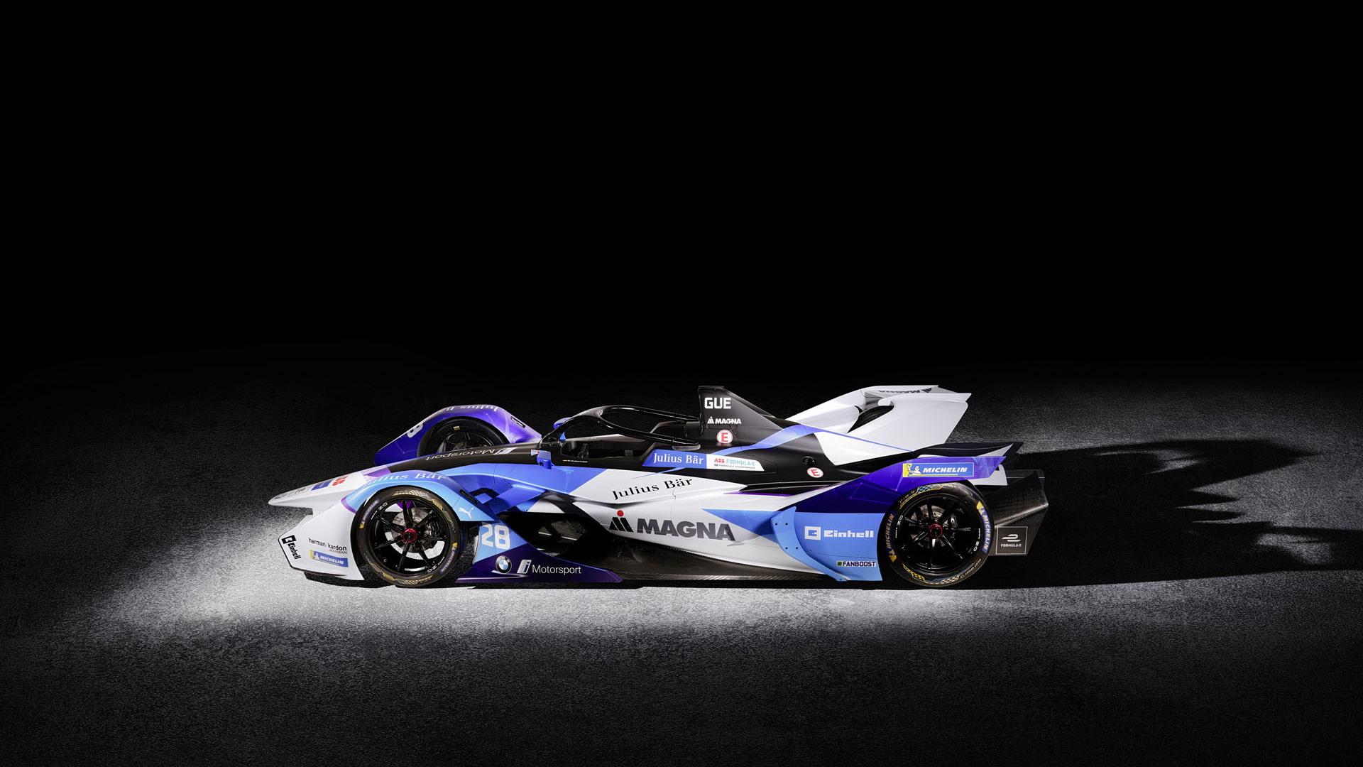 BMW iFE.20 Formula E race car