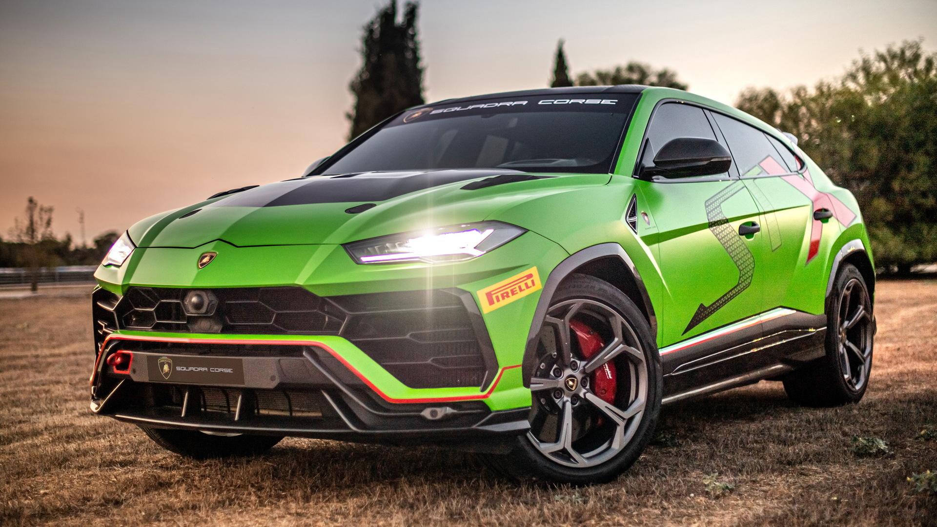2020 Lamborghini Urus ST-X race car
