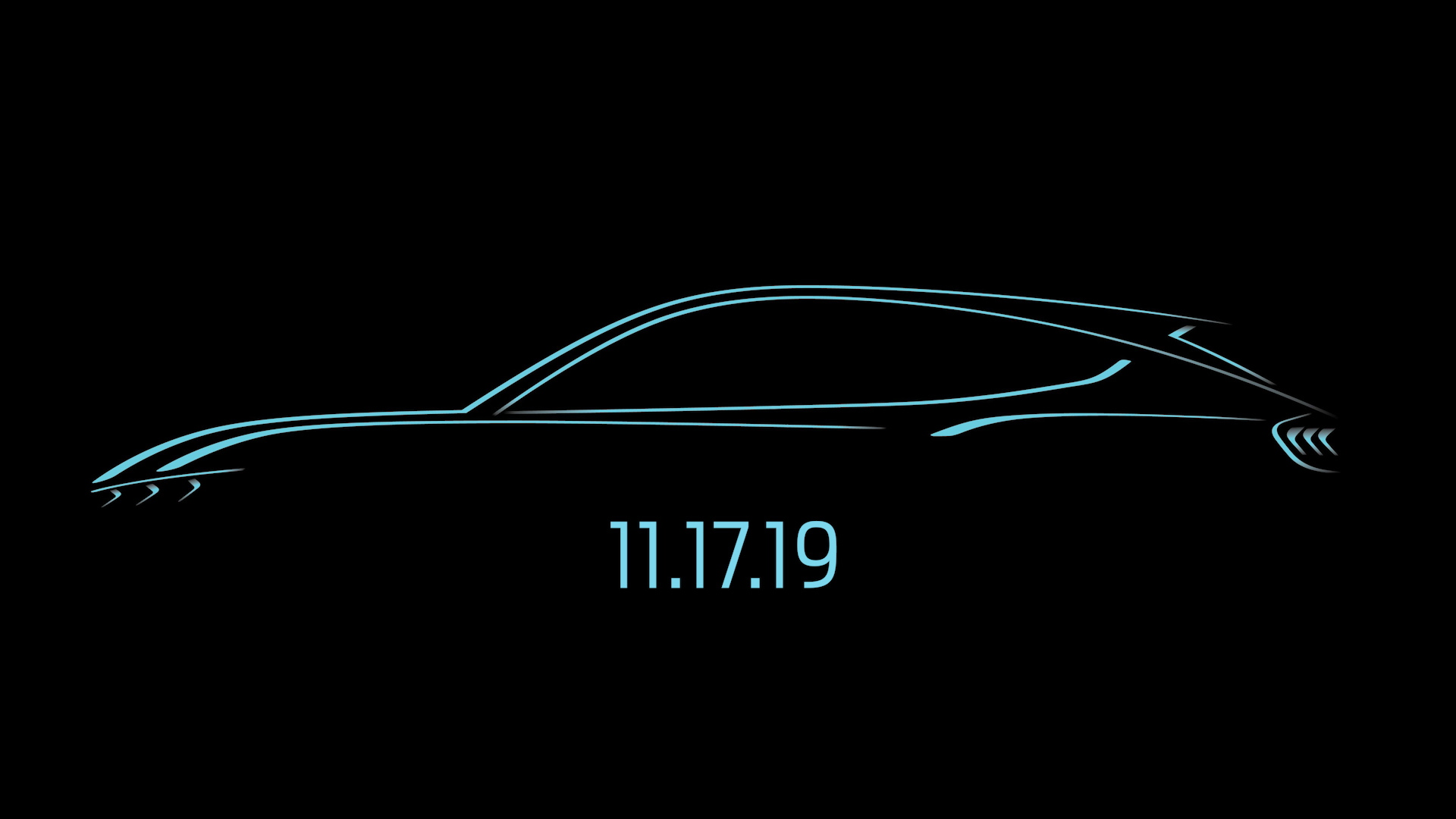 Ford's 'Mustang-inspired' all-electric SUV will debut on Nov