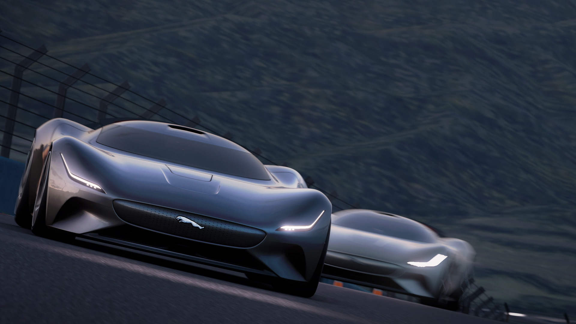 Jaguar Vision Gran Turismo revealed as a slinky, all-electric virtual racer