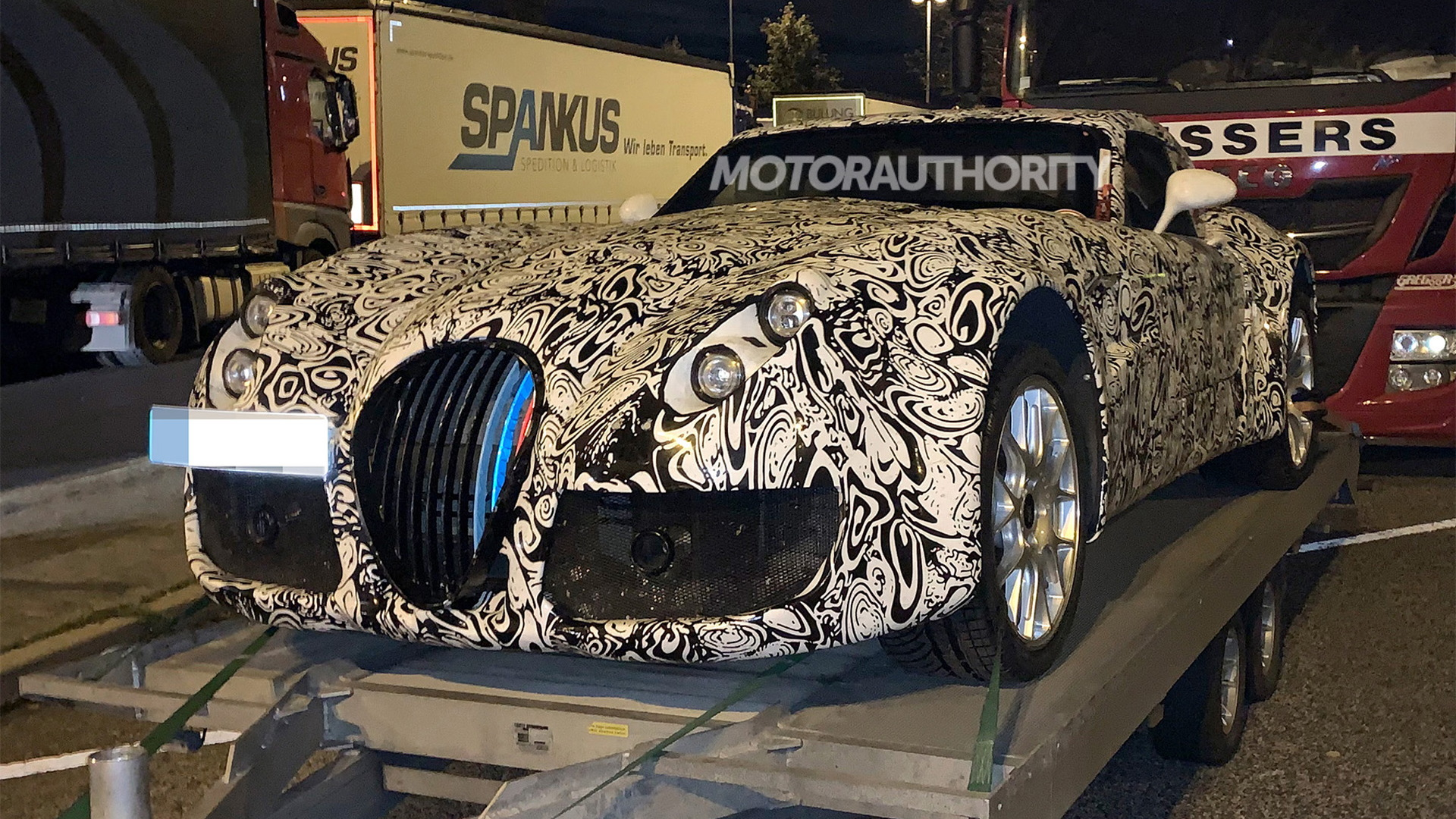 2020 Wiesmann MF6 spy shots - Photo credit: S. Baldauf/SB-Medien