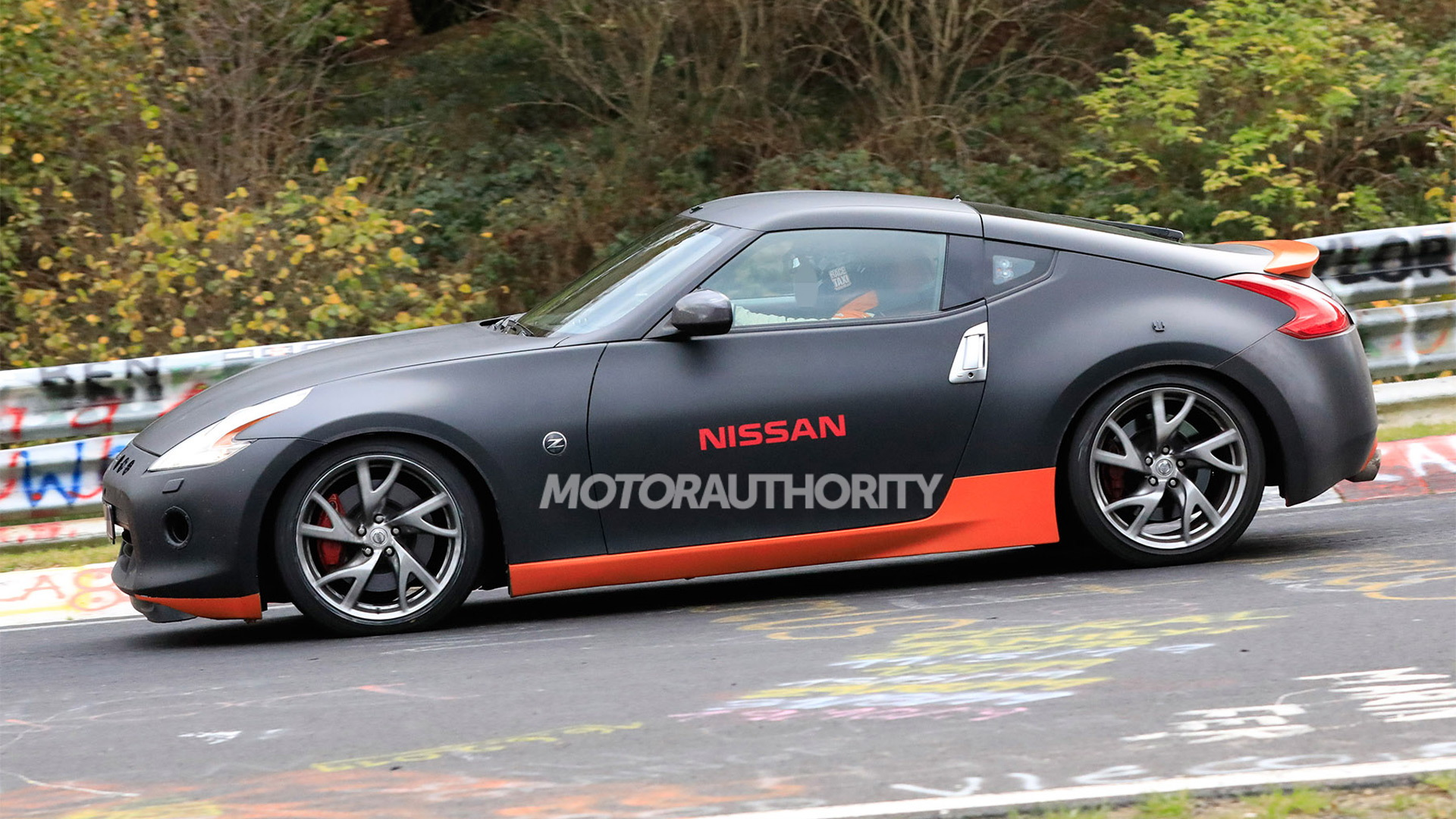 2022 Nissan Z sports car test mule spy shots - Photo credit: S. Baldauf/SB-Medien