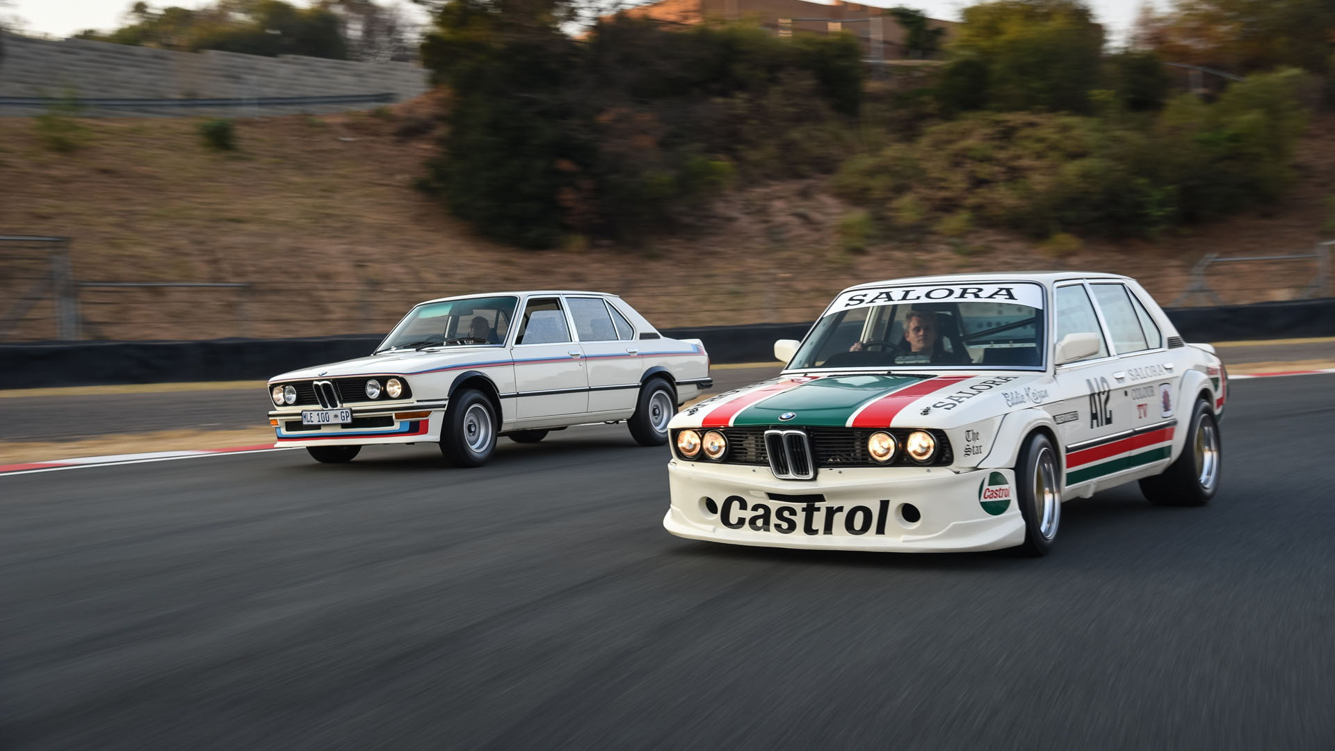 BMW 530 MLE road and race car reunion