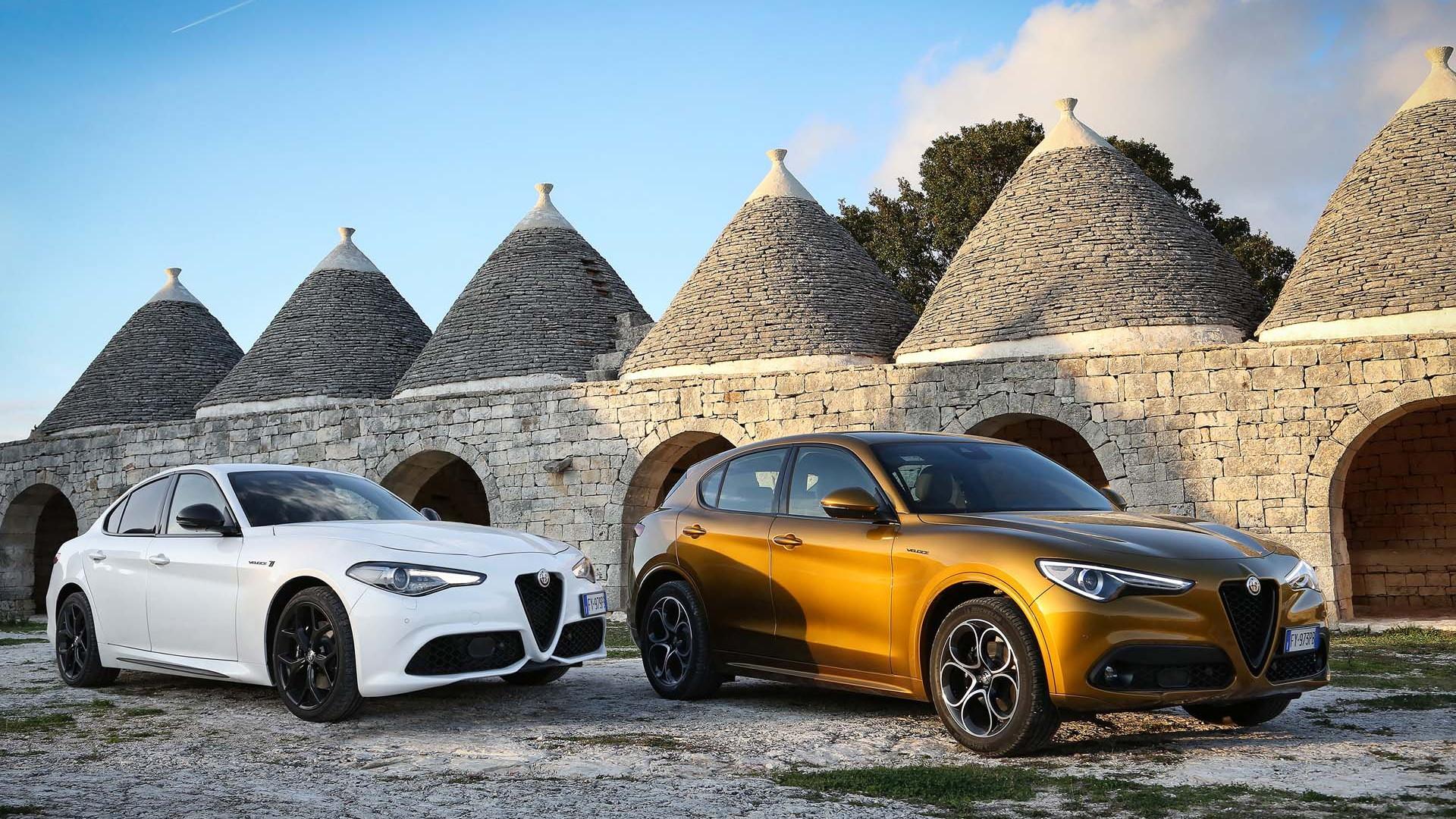 2020 Alfa Romeo Giulia and Stelvio