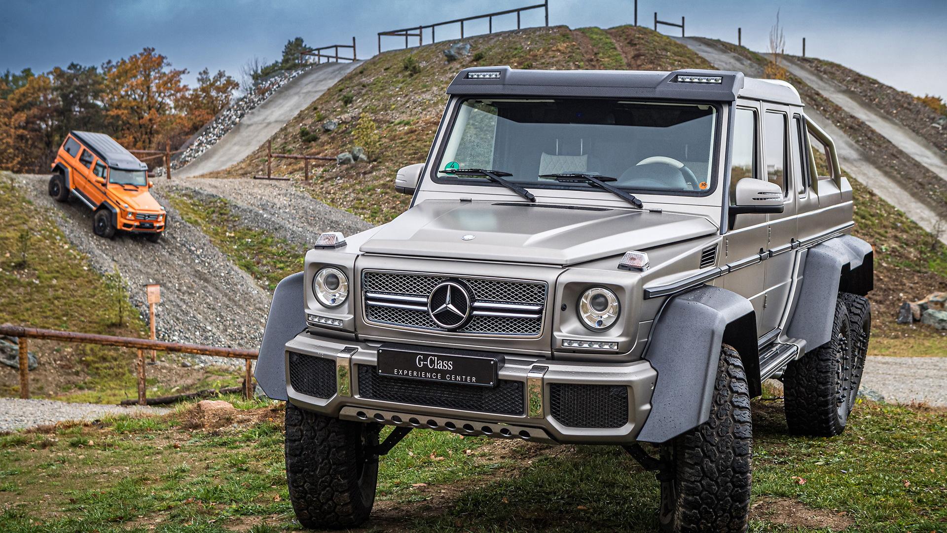 Mercedes-Benz G-Class Experience Center