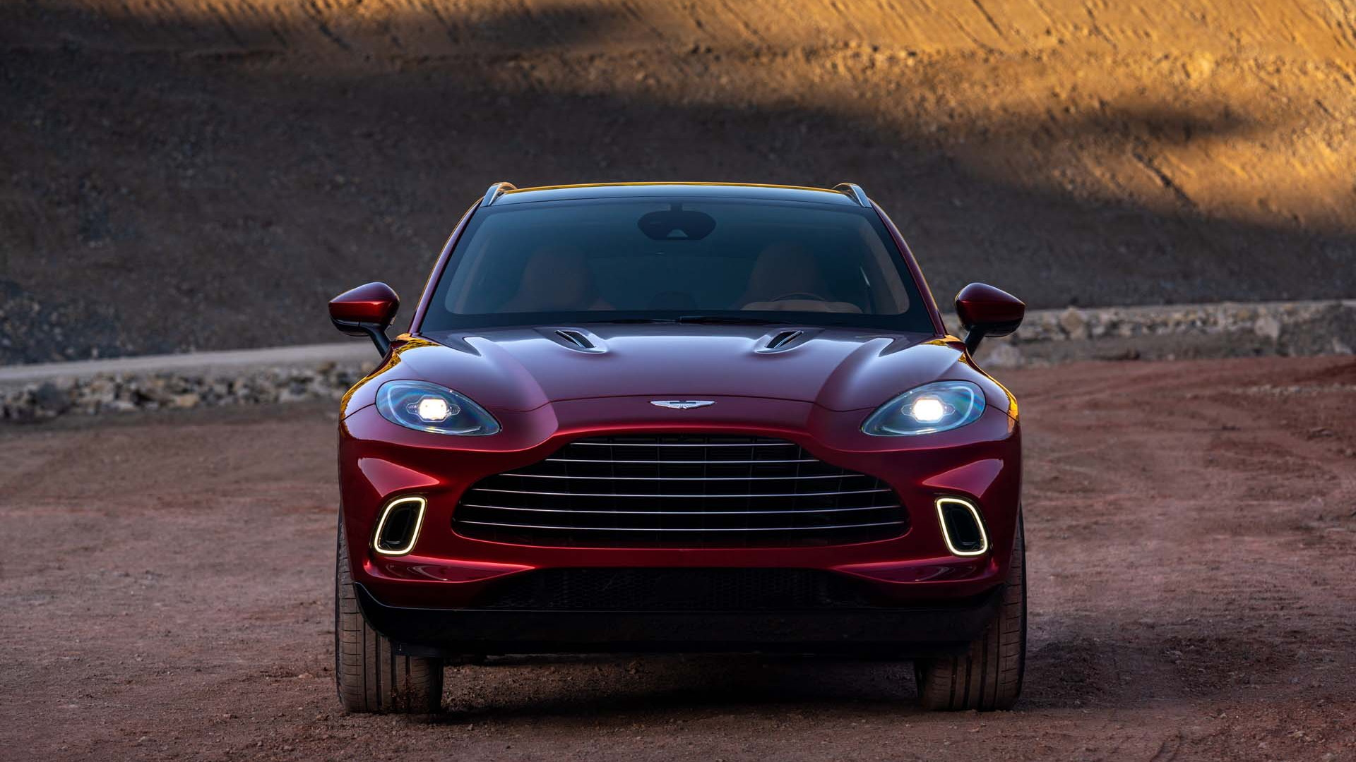 Aston Martin unveils first SUV