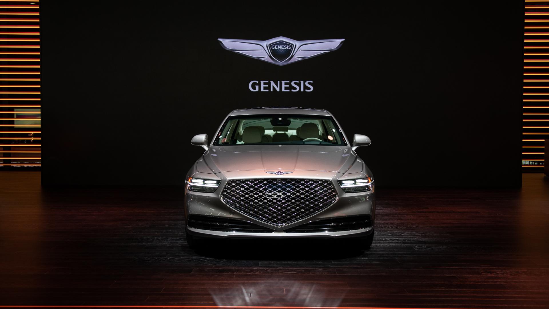 2020 Detroit Auto Show Debuts.2020 Genesis G90 Debuts At 2019 La Auto Show