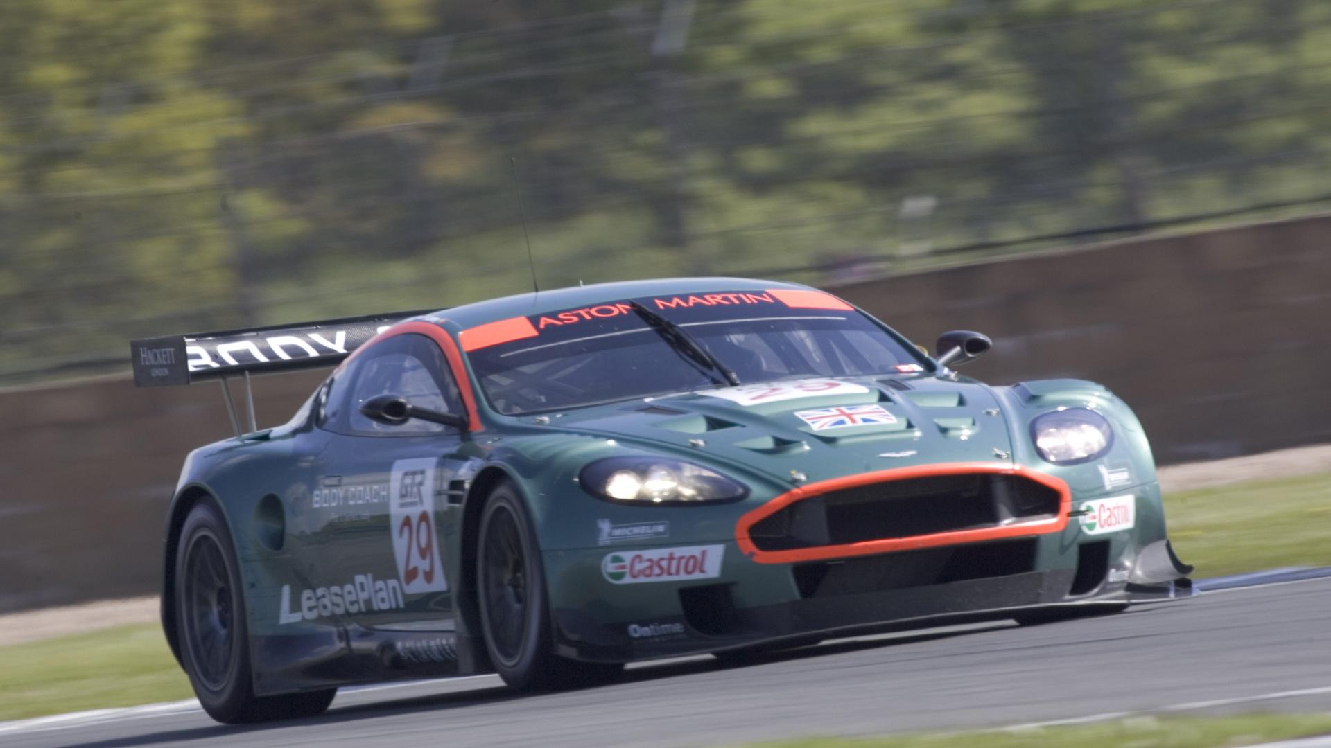 Aston Martin DBR9 race car built by Prodrive