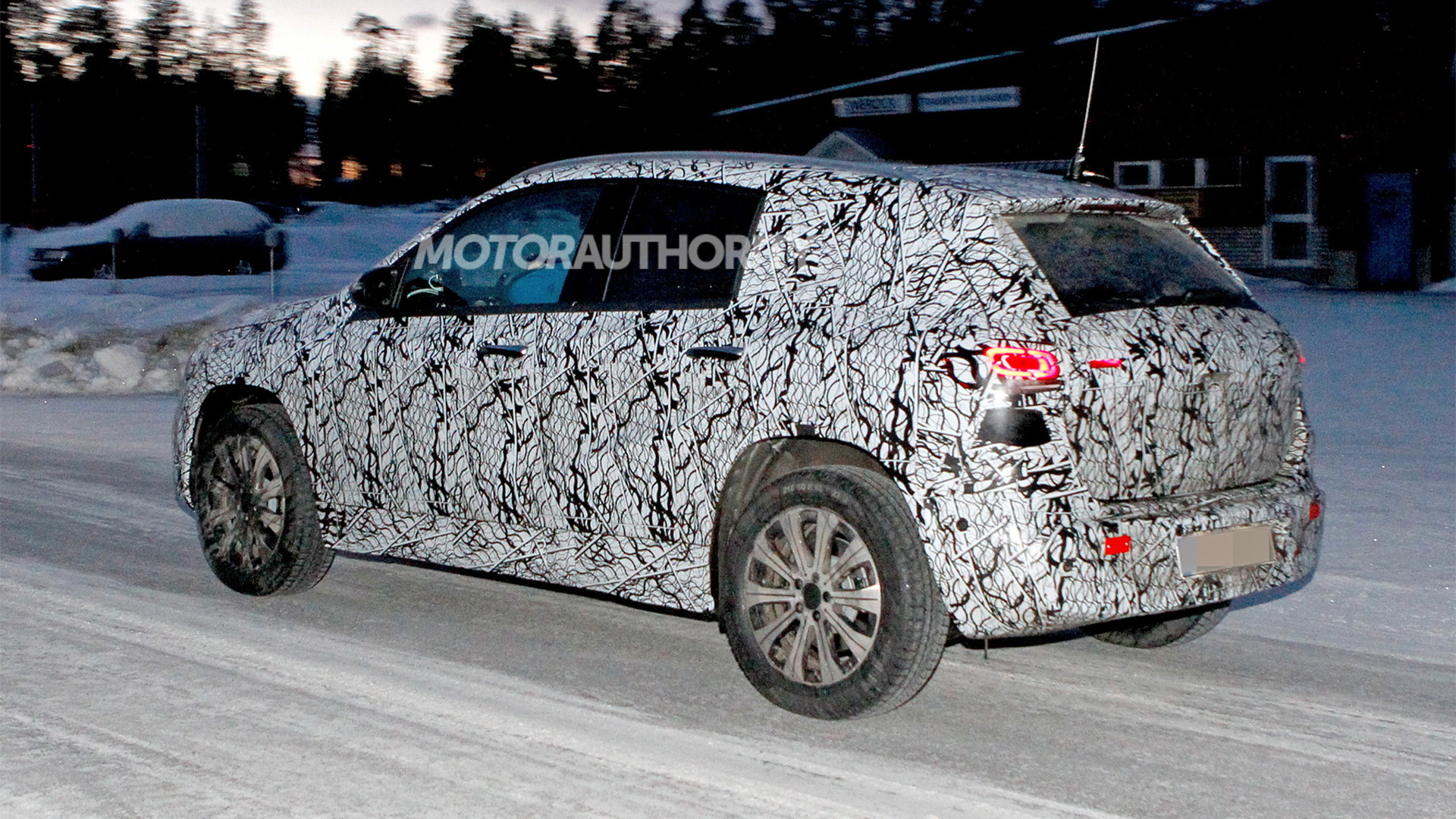 2021 Mercedes-Benz EQA spy shots - Photo credit: S. Baldauf/SB-Medien