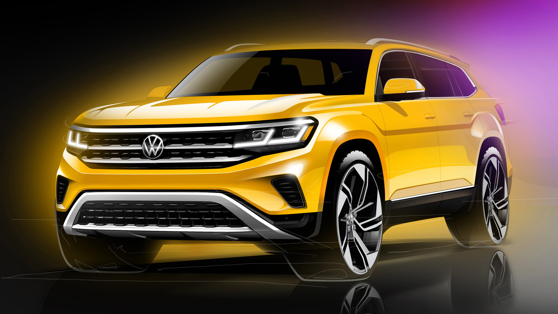 Teaser for 2021 Volkswagen Atlas