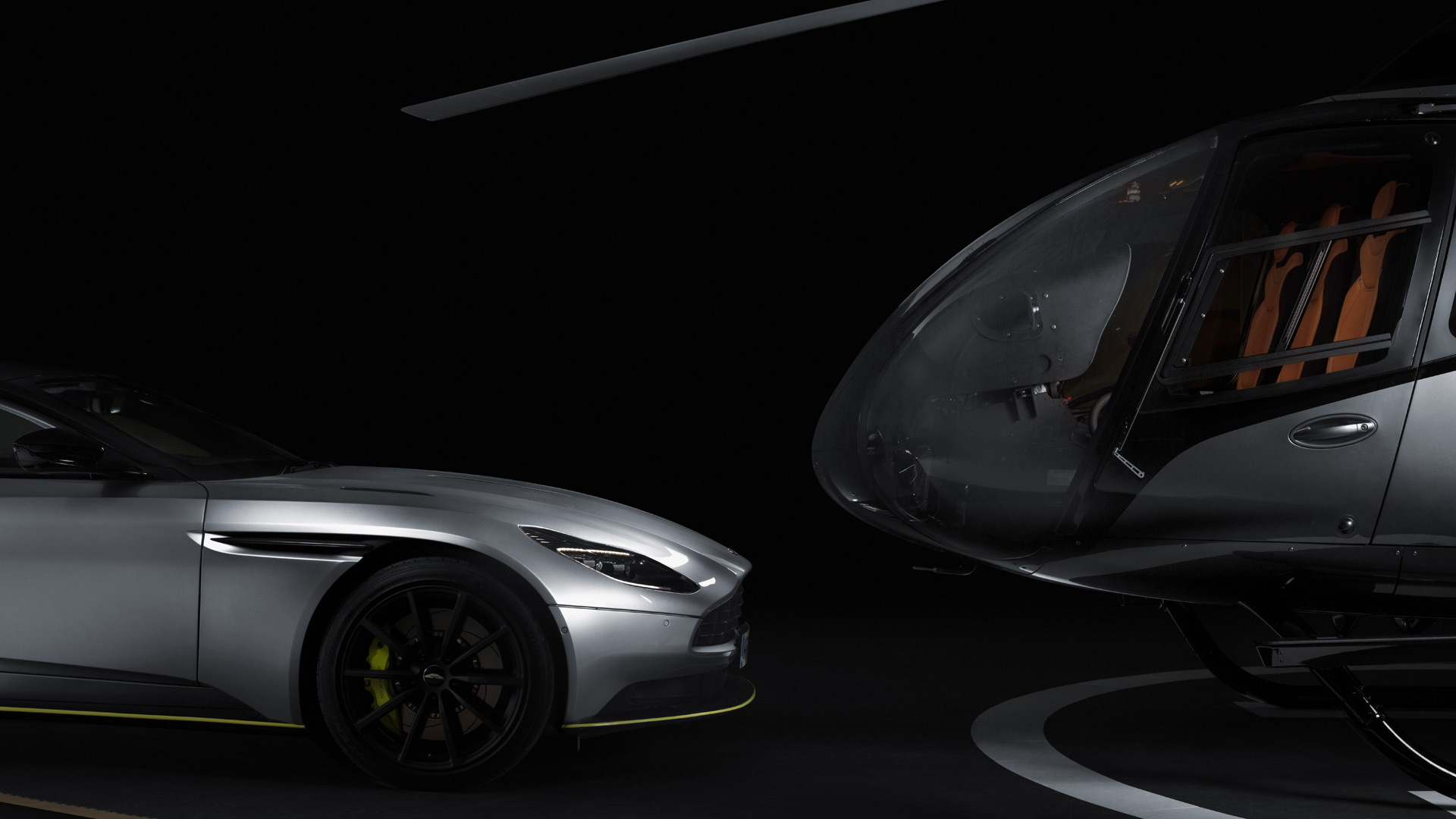 2019 Aston Martin DB11 AMR and 2020 ACH130 Aston Martin Edition