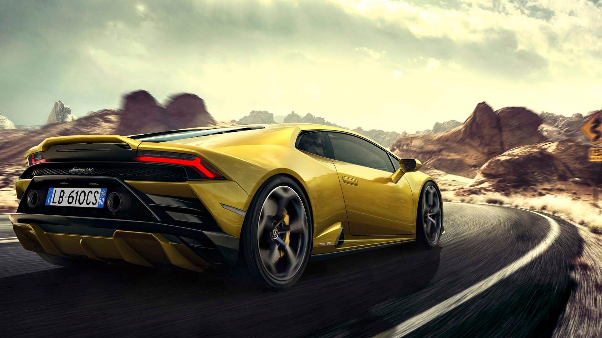 Rear-wheel-drive Lamborghini Huracan Evo