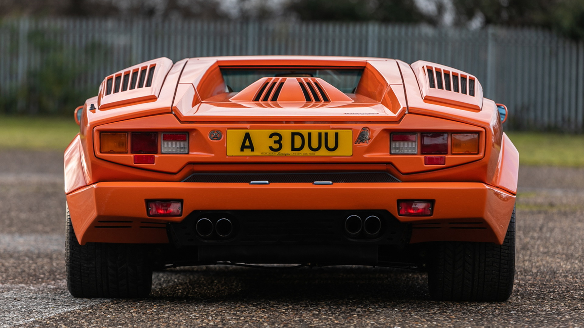 1990 Lamborghini Countach 25th Anniversary Edition - Photo credit: Silverstone Auctions