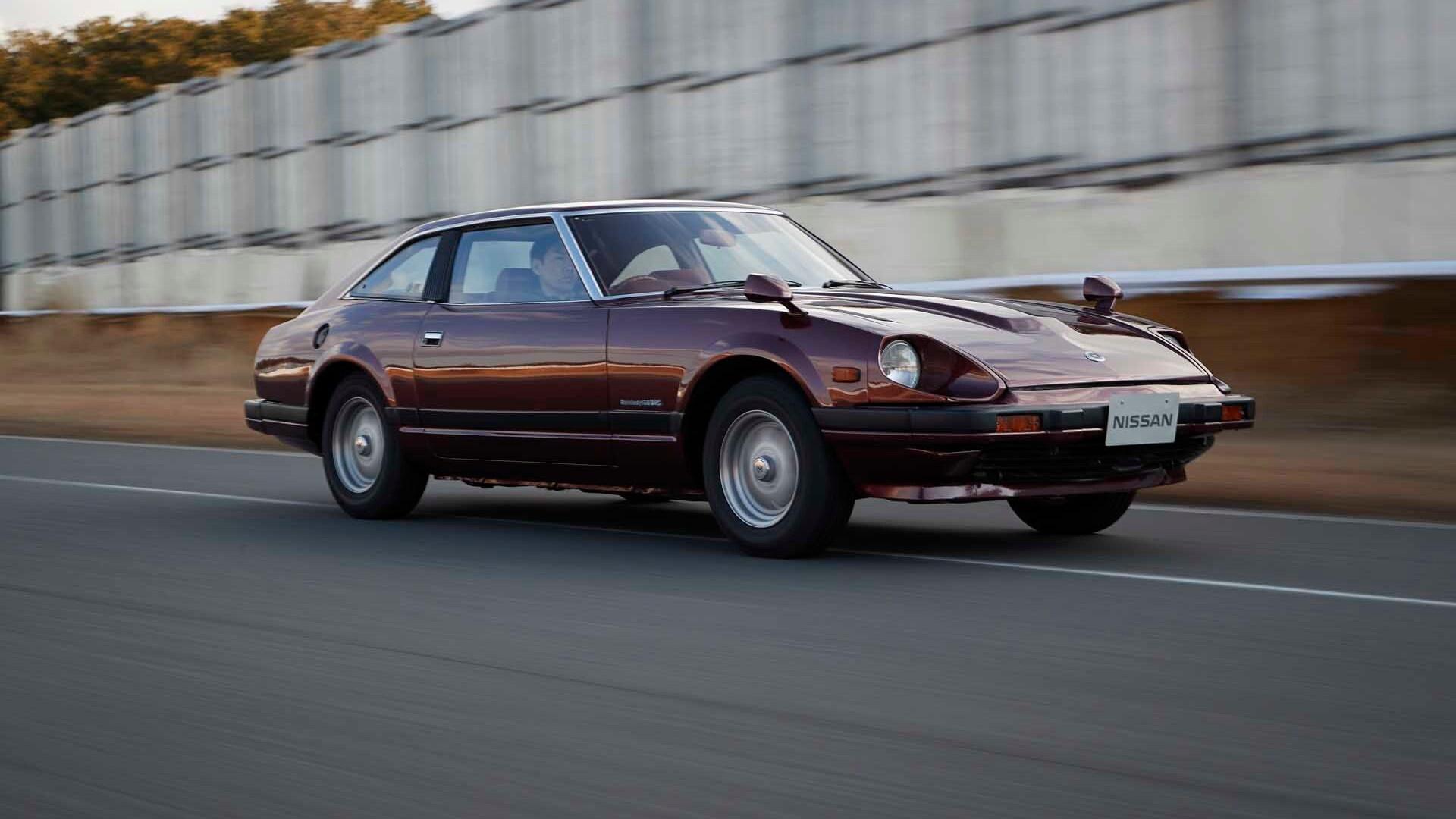 Nissan Z heritage drive